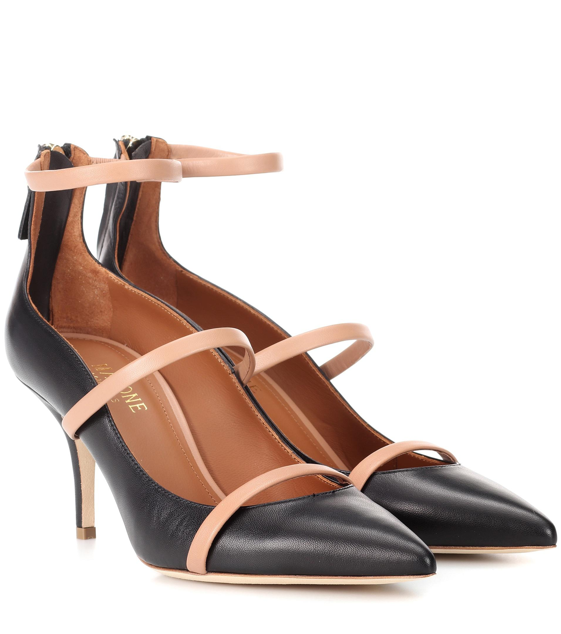 Malone Souliers Robyn 70 leather pumps clearance store for sale r3YVZ