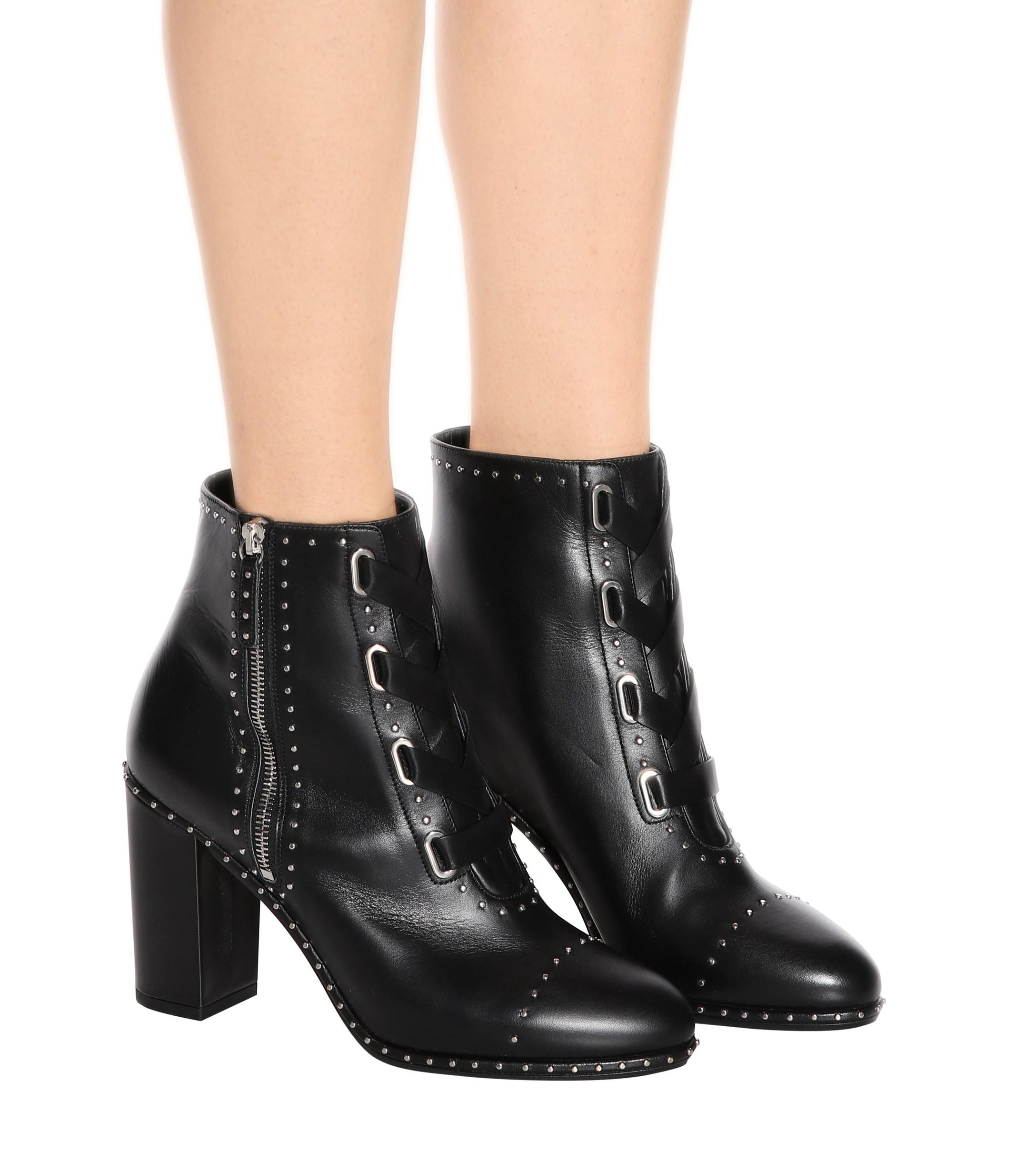 ebac5533e6bbaa ... Guns   Roses 85 Leather Ankle Boots - Lyst. View fullscreen