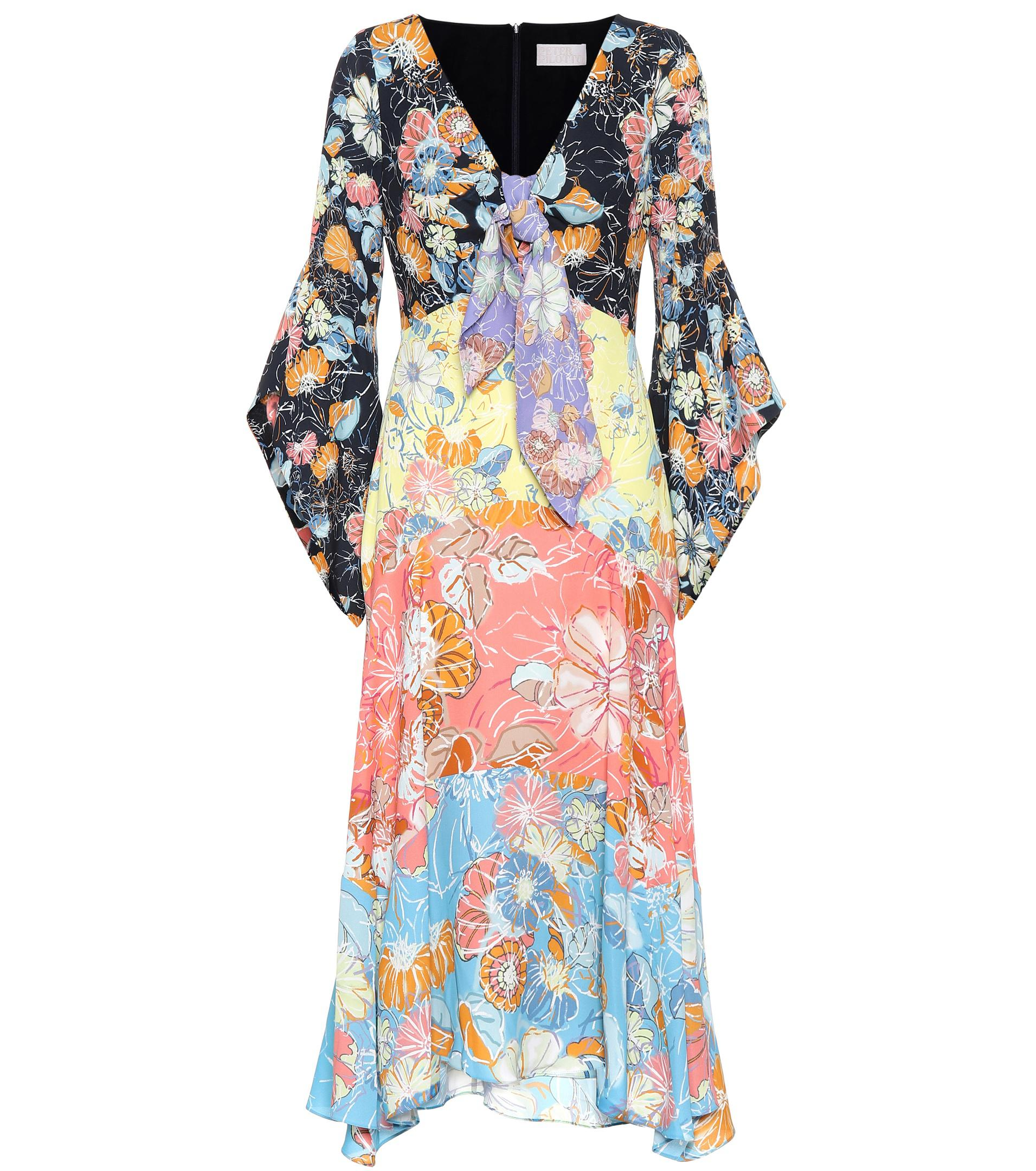 Floral-printed midi dress Peter Pilotto 4om8fB7e