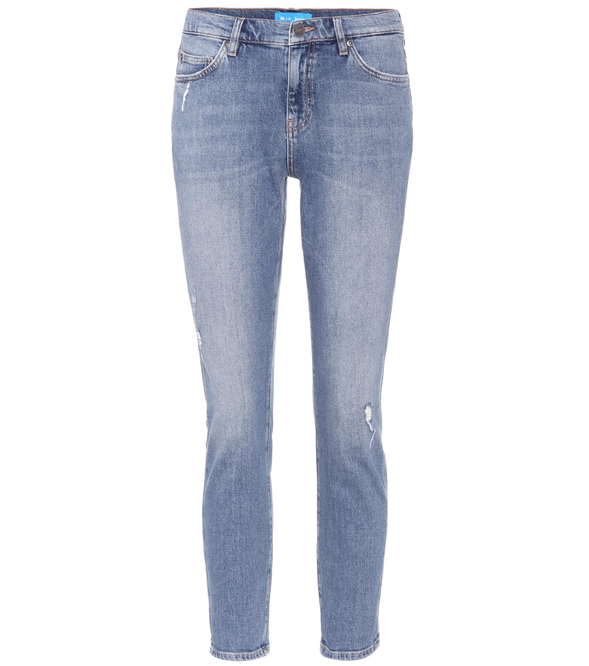 New Cheap Online Free Shipping Sneakernews Cropped jeans with appliqué Mih Jeans Clearance Low Price Fee Shipping Cheap Huge Surprise Manchester Great Sale Cheap Price 3qpiEOIxW