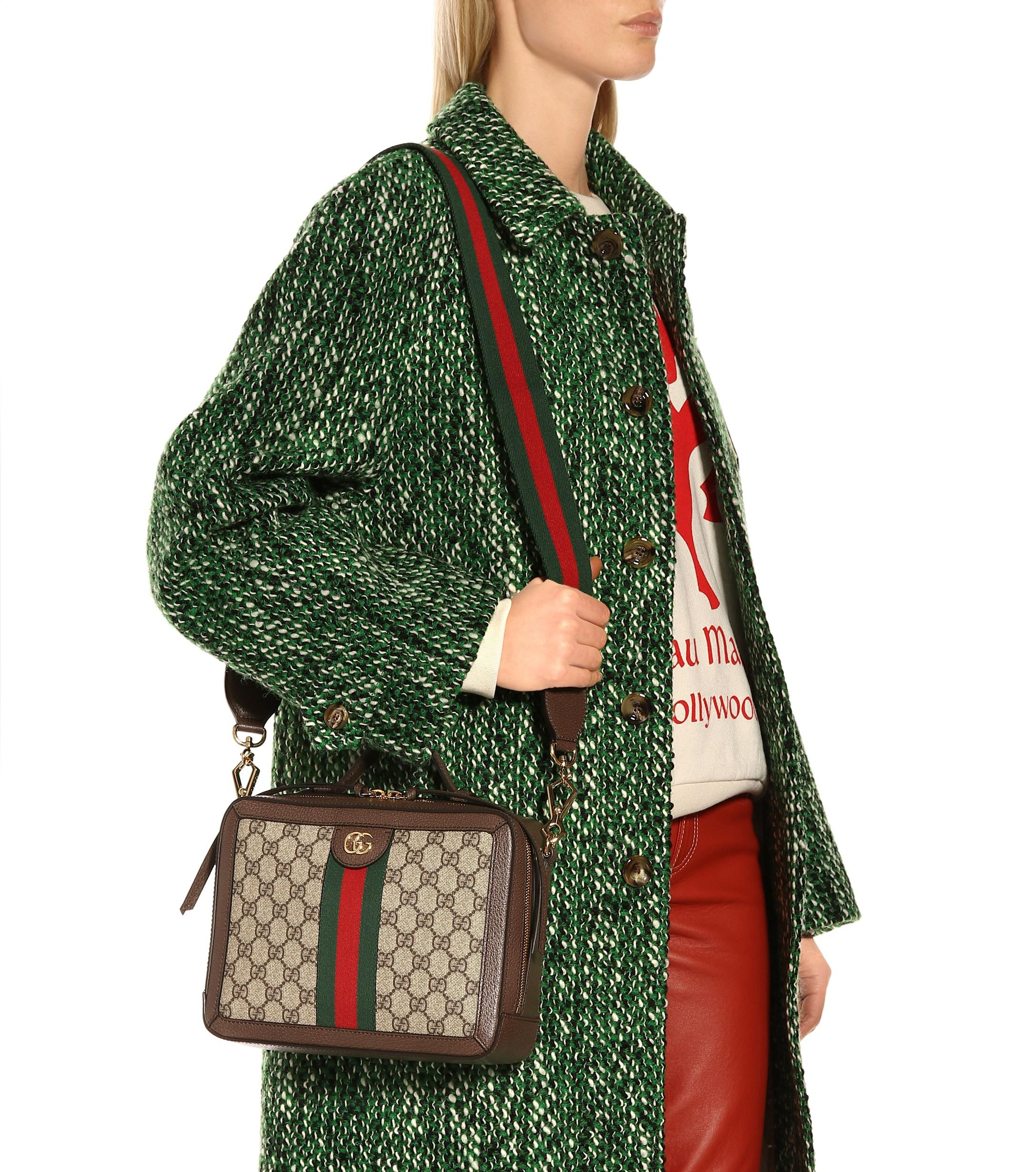 f52699d8a9f838 Gucci - Multicolor Ophidia Small GG Supreme Shoulder Bag - Lyst. View  fullscreen