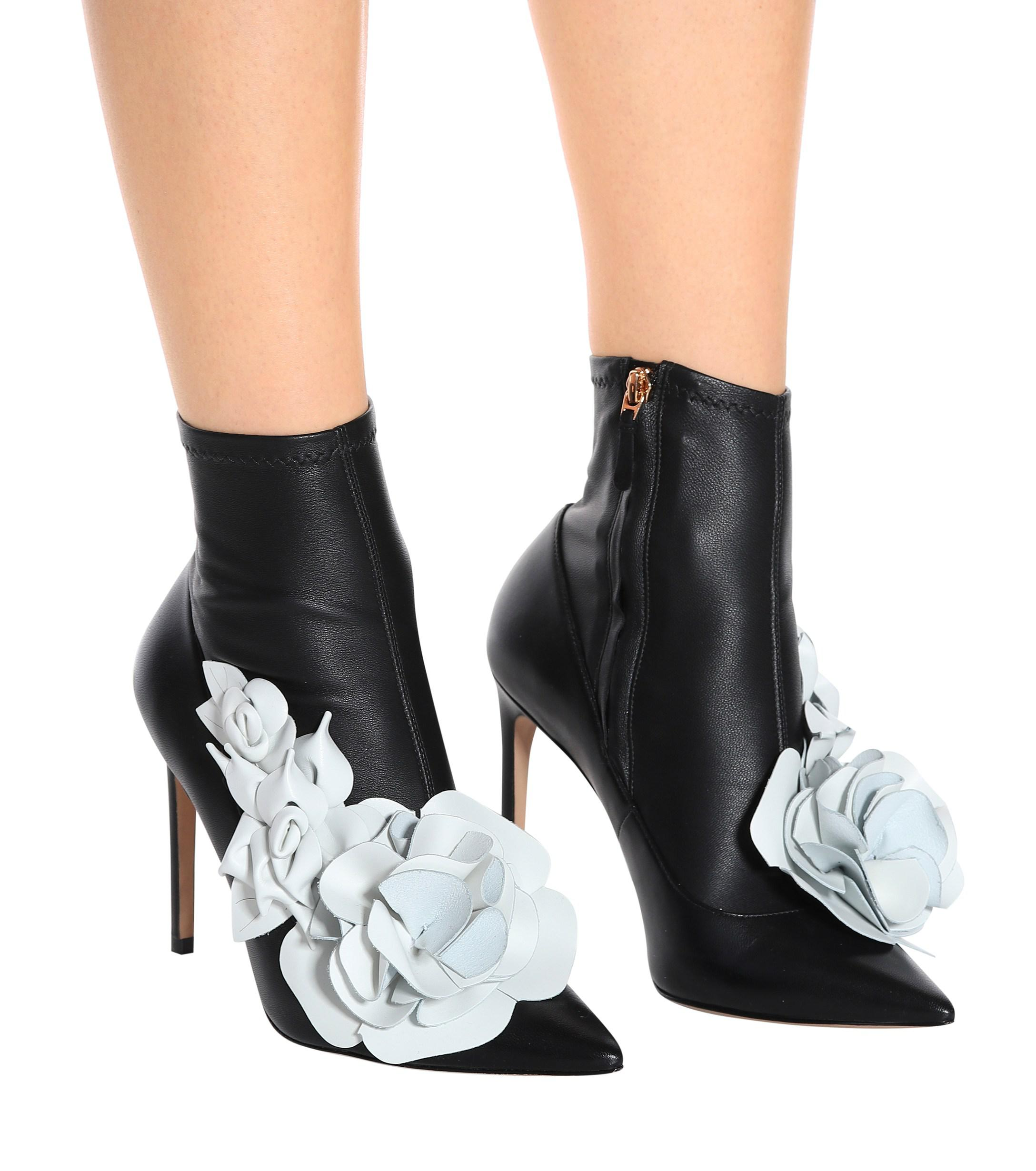 c8f9b53474e5 Lyst - Sophia Webster Lilico 100 Boots in Black - Save 52%