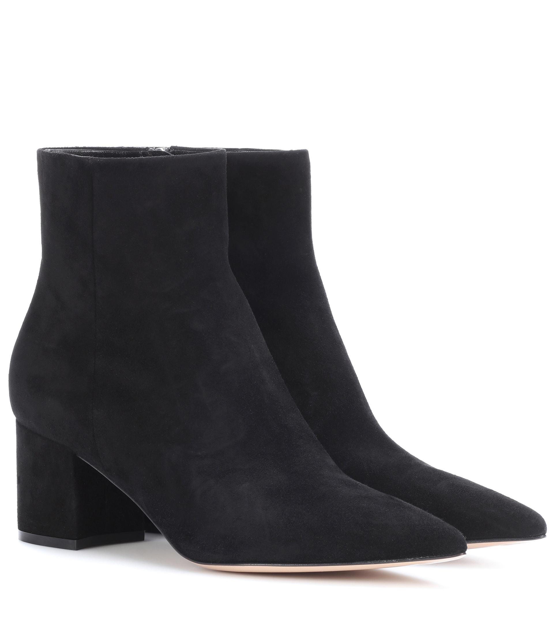 Gianvito Rossi Exclusive to mytheresa.com – Piper 60 suede ankle boots outlet ebay store cheap online hot sale buy cheap get authentic mT4stp