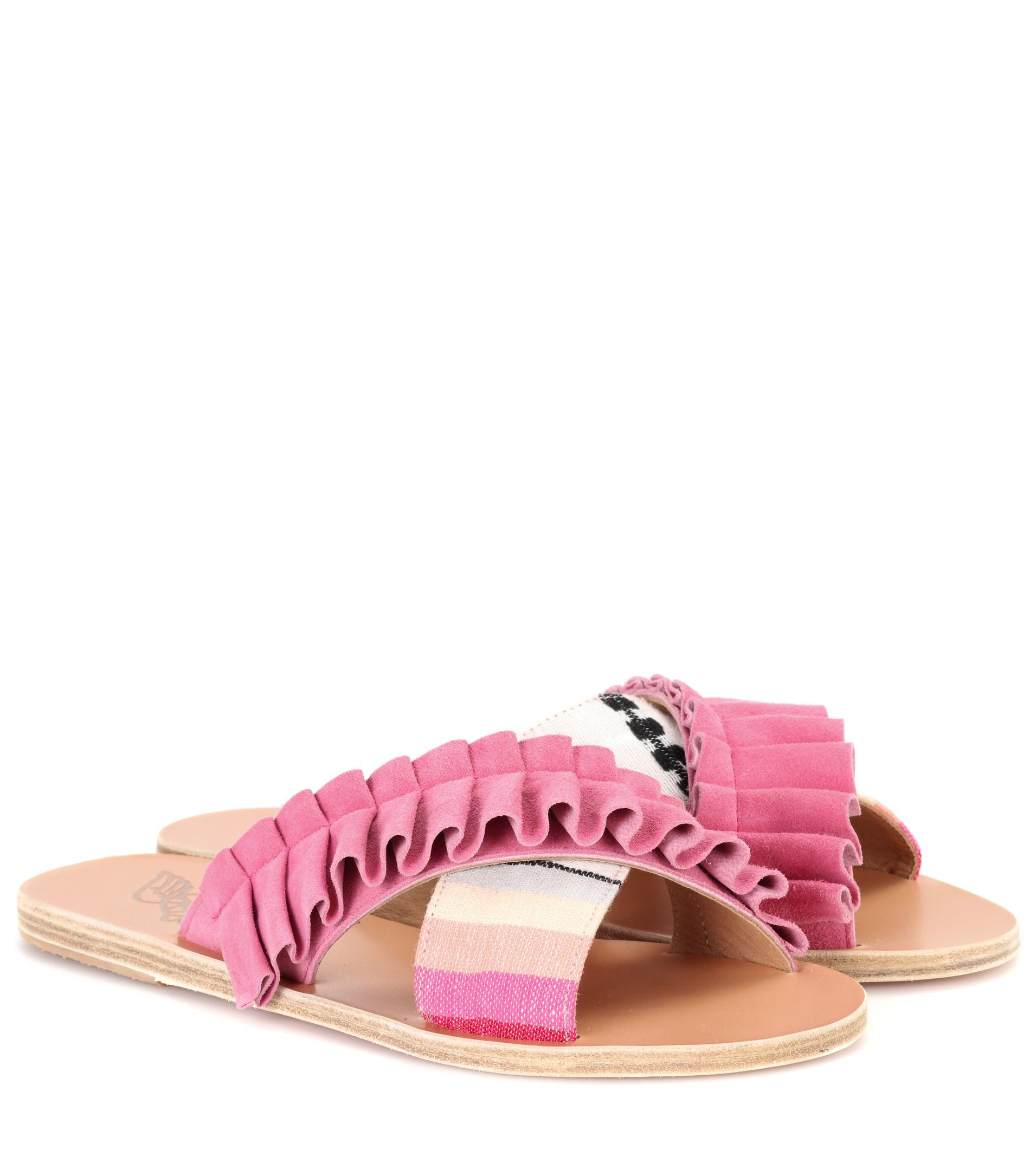 Lemlem X Ancient Greek Sandals Thais Frills sandals Free Shipping Excellent For Sale Free Shipping Great Deals Cheap Sale Store Online Cheap xcUTG