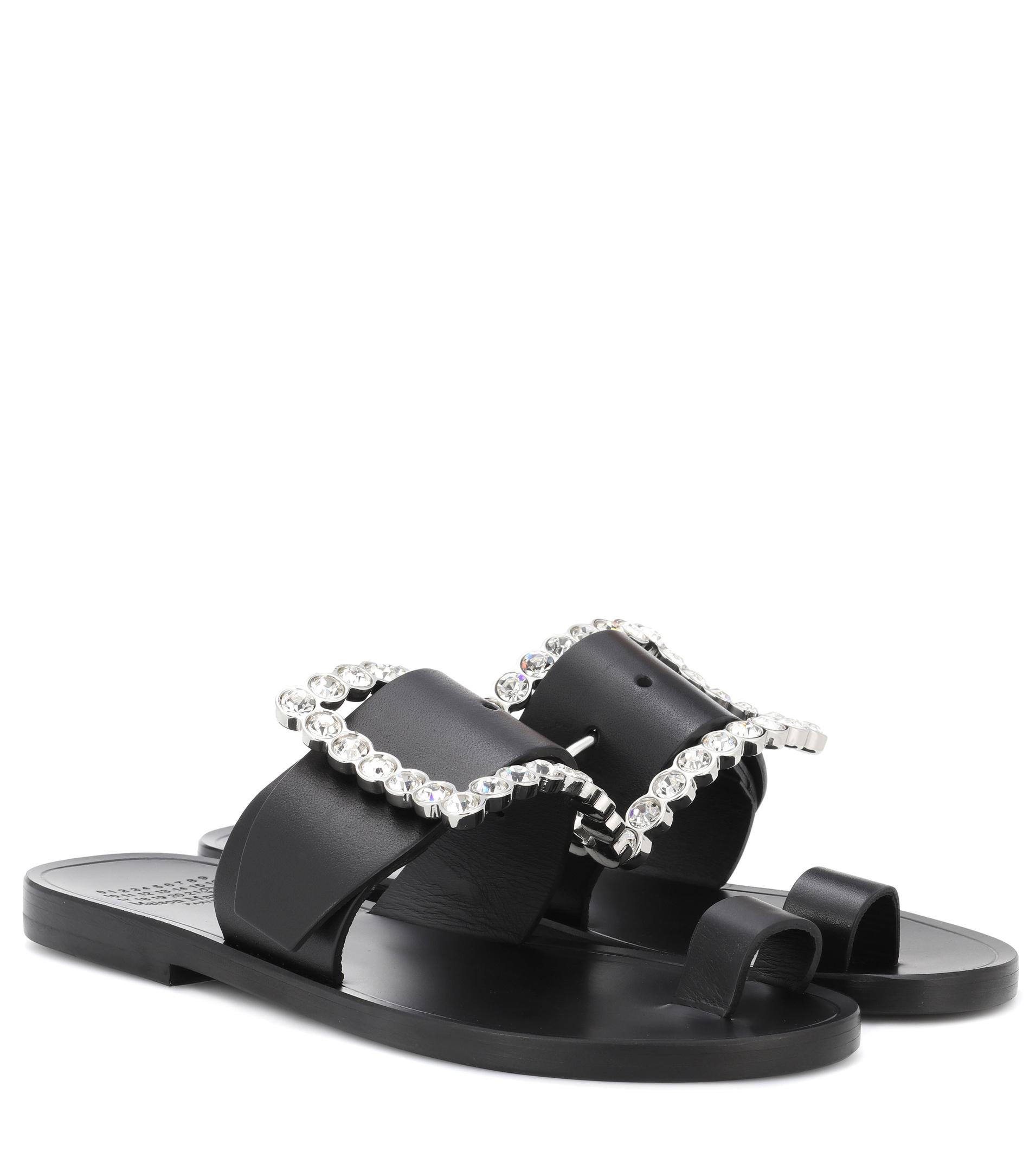 crystal buckle sandals - Black Maison Martin Margiela NV2U7iEYJo