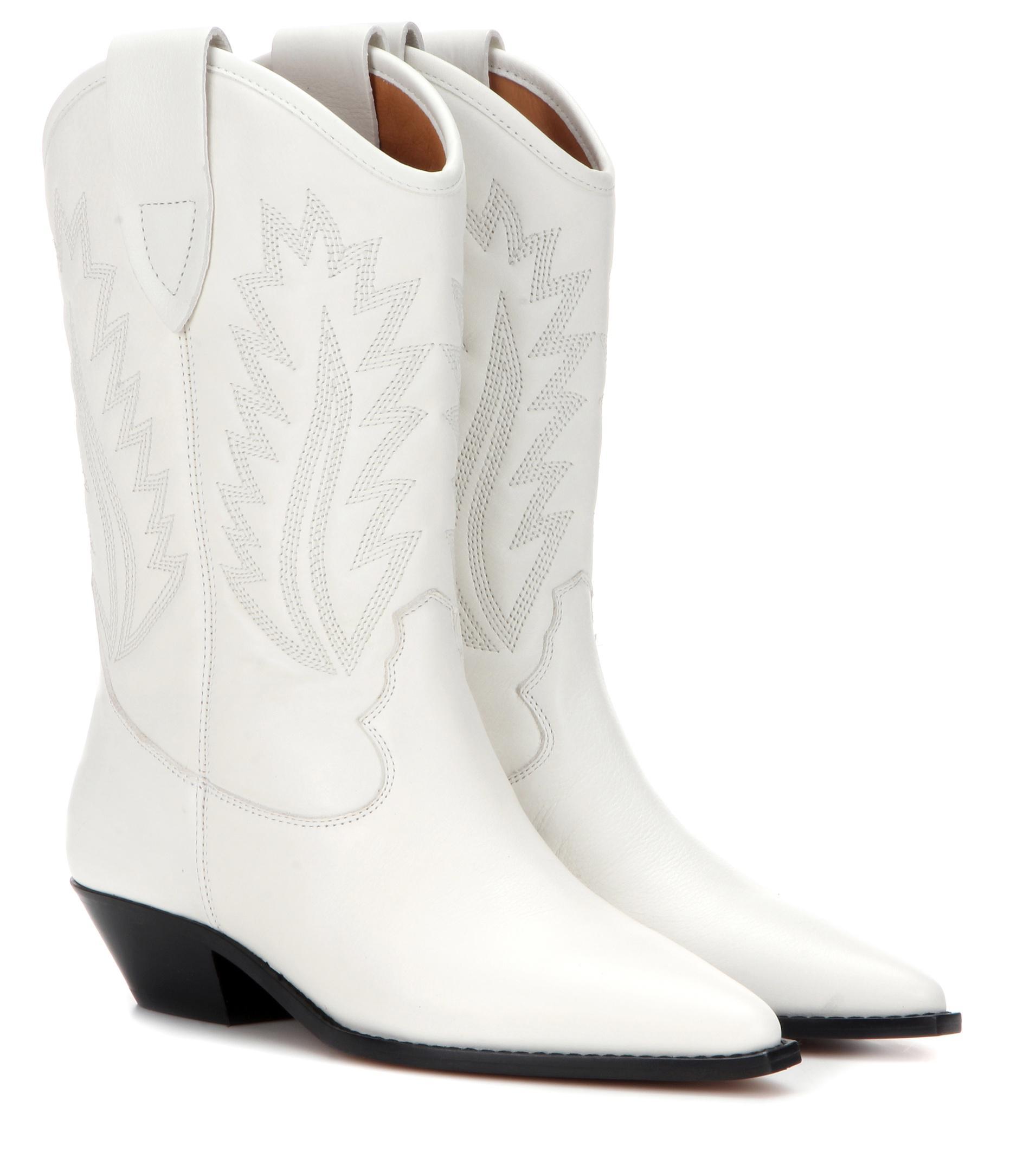 Isabel Marant Étoile Étoile Dallin Boots - White MPWnvqEBYU