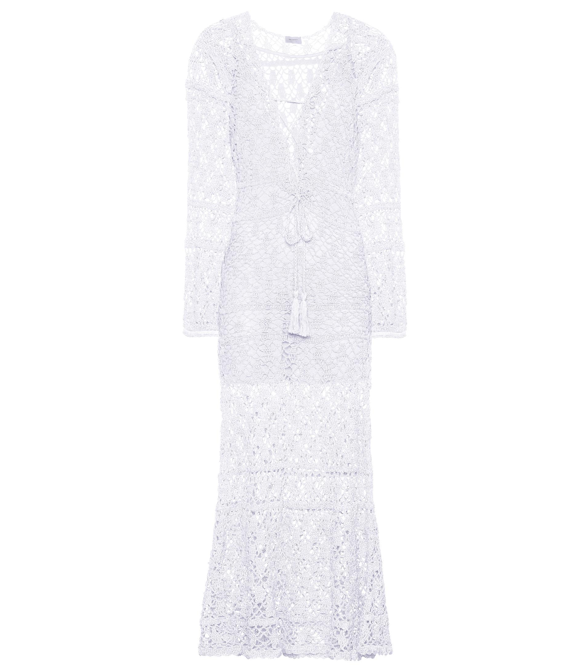 Bianca crocheted cotton dress Anna Kosturova Pictures Sale Online Outlet Brand New Unisex 1HSQ4Ed