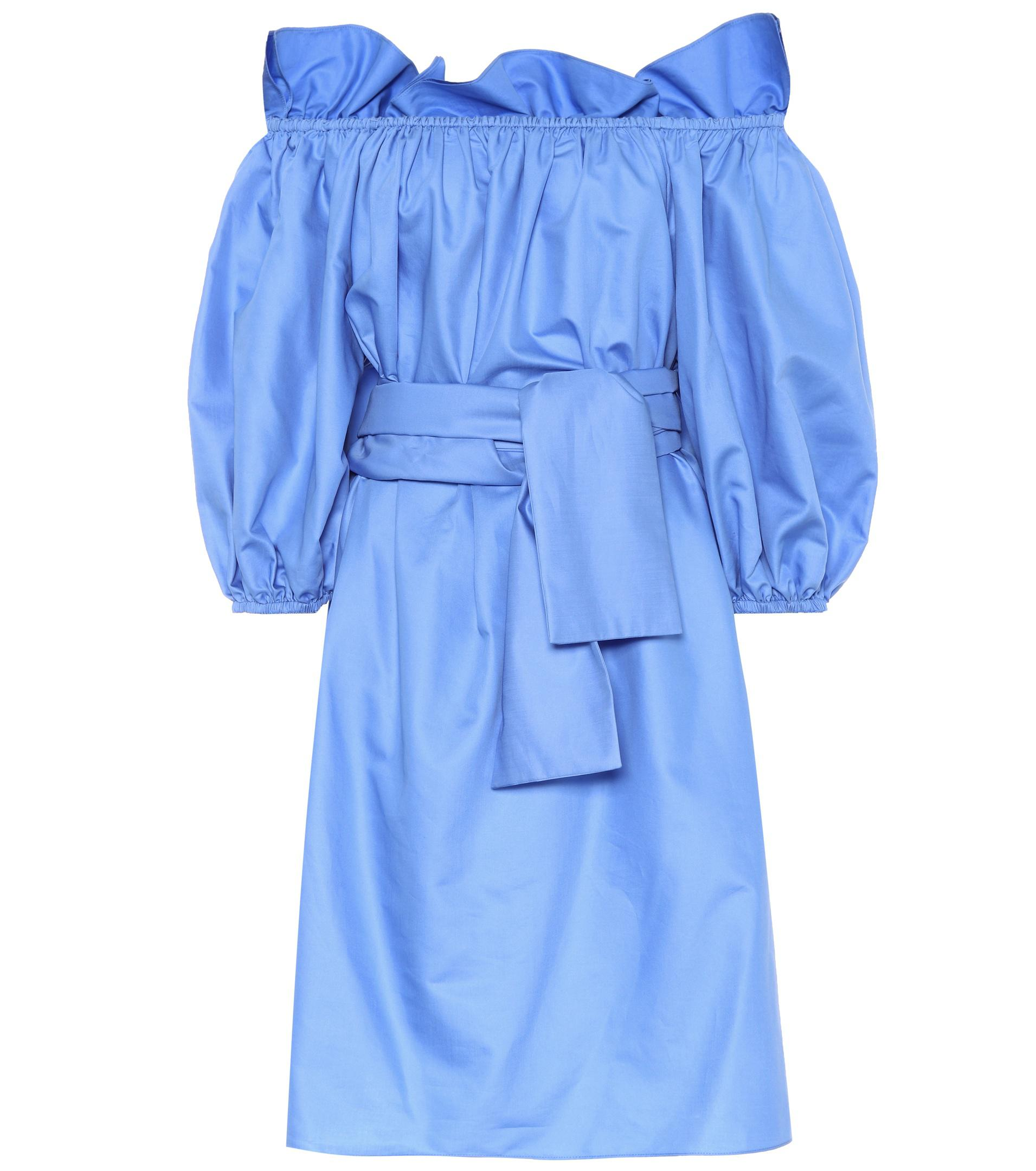 Really Cheap Sale Footaction Reyna cotton poplin dress Stella McCartney Sale Shop For HwW3e8lS
