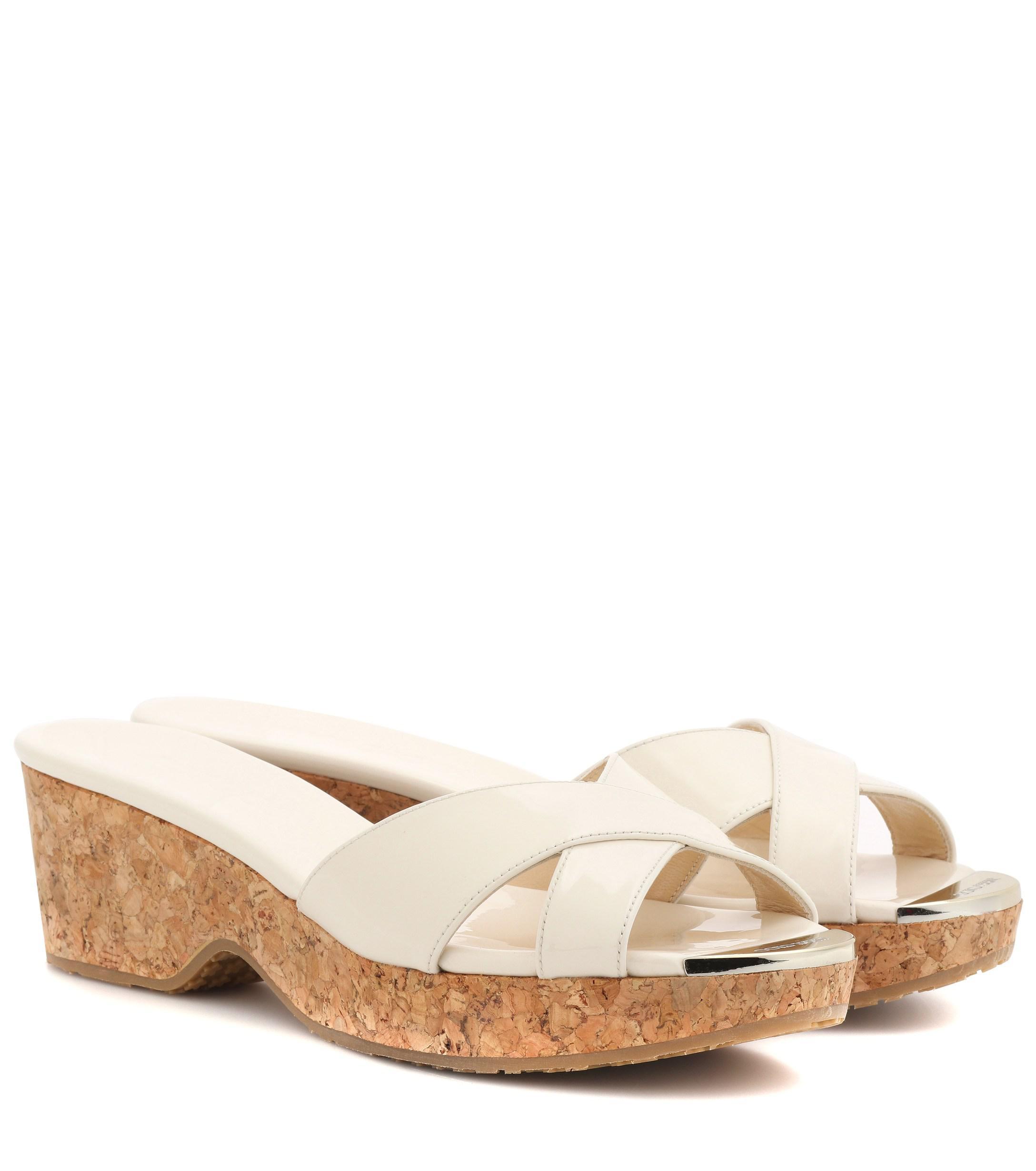e214eb9f29c10 Jimmy Choo. Women s Panna Patent Leather Sandals