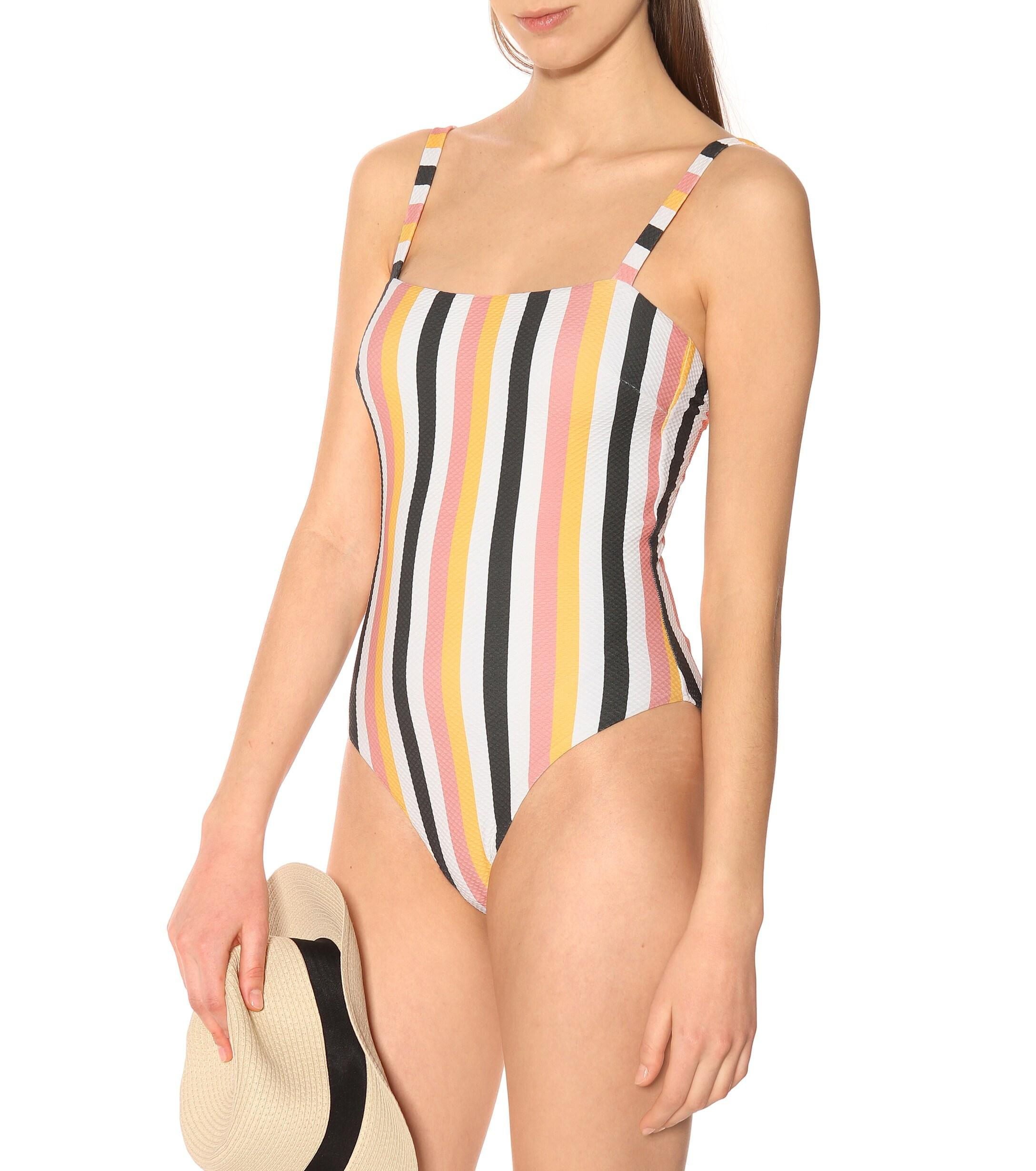 8e3e5a6489e05 Asceno - Multicolor Striped Swimsuit - Lyst. View fullscreen
