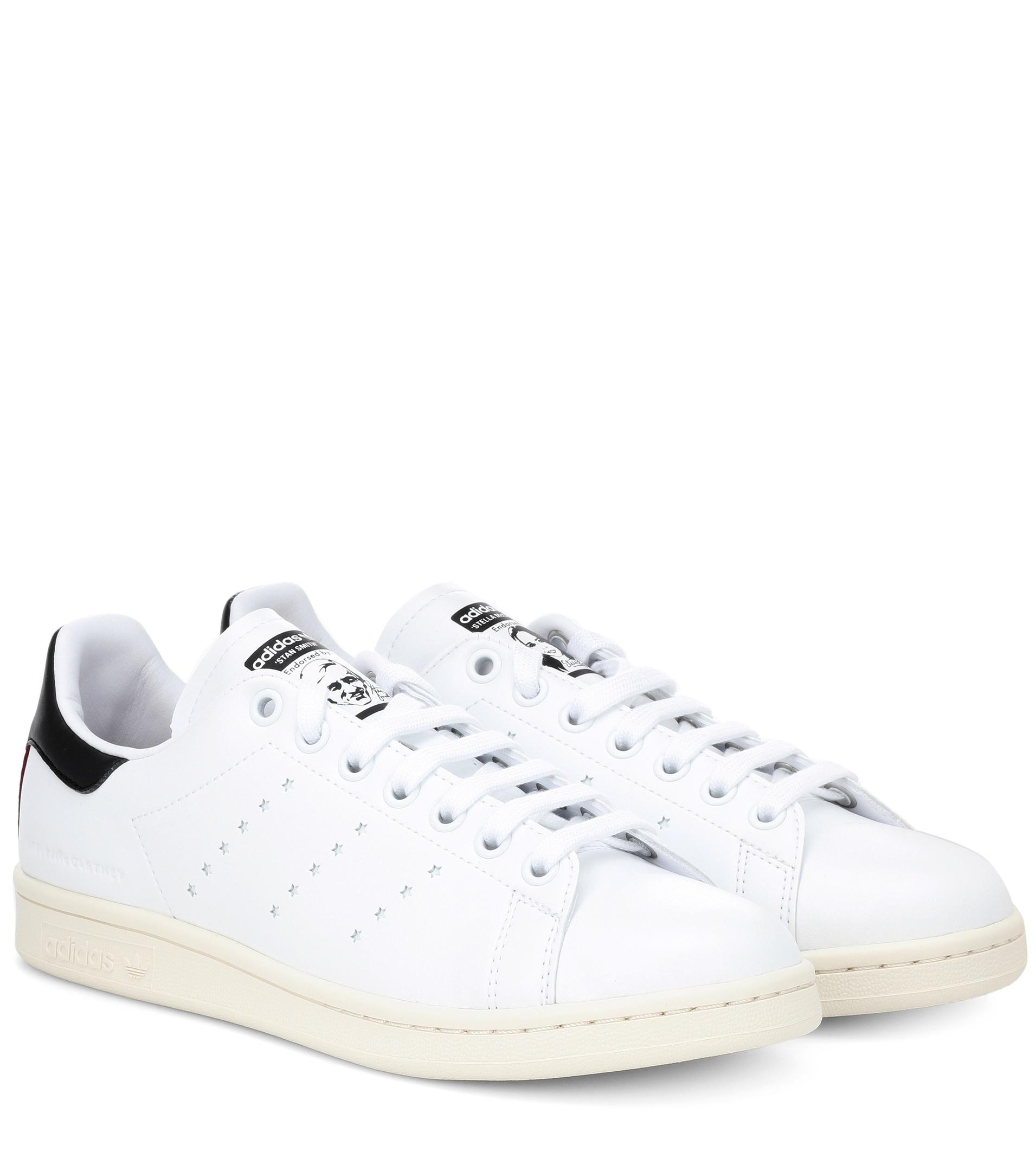Lyst - Stella McCartney White Stan Smith Sneakers in White - Save 20% b372a4ee2