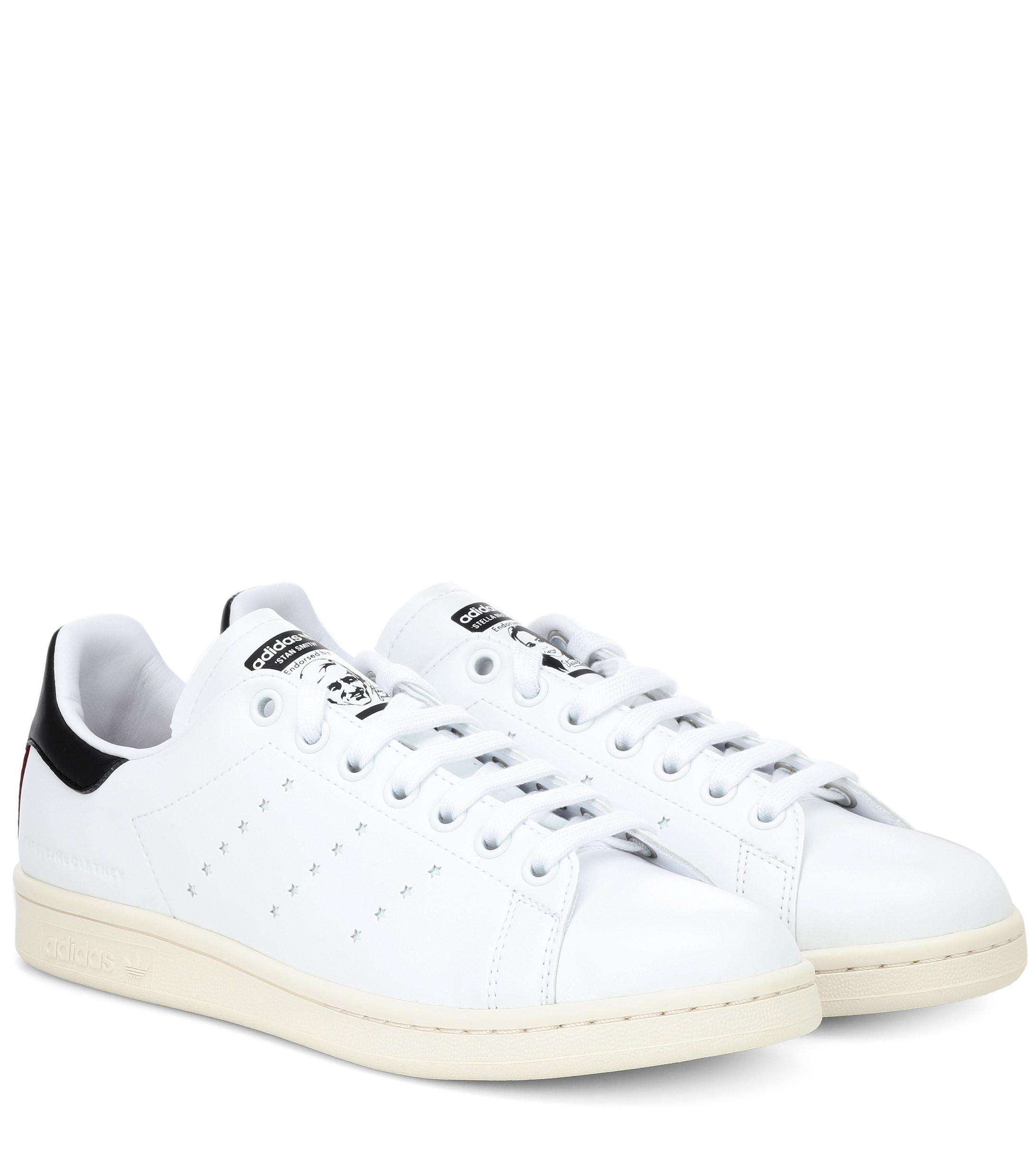 e09532489a88 Stella McCartney Stan Smith Sneakers in White - Lyst