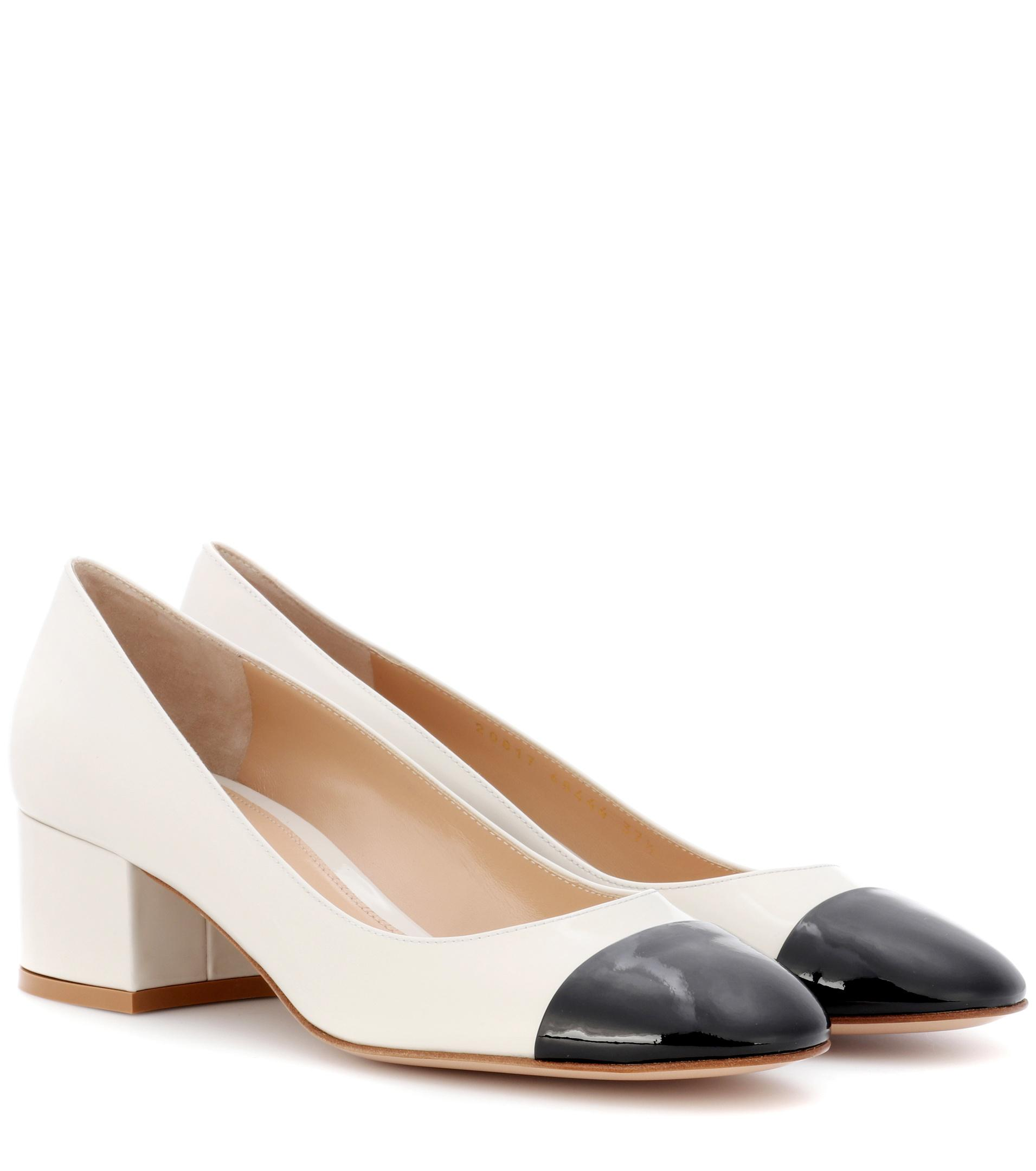 discount in China Gianvito Rossi contrast toe pumps how much online dpjXS