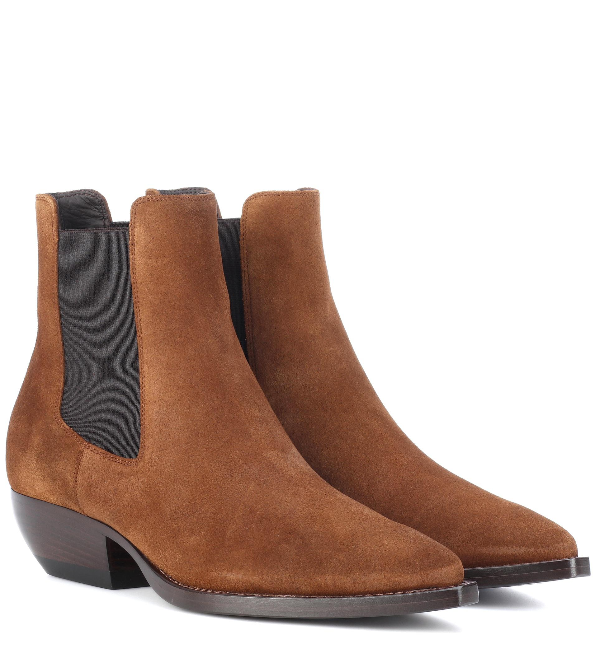 Theo 45 Chelsea boots - Brown Saint Laurent Yng5uHfbPt