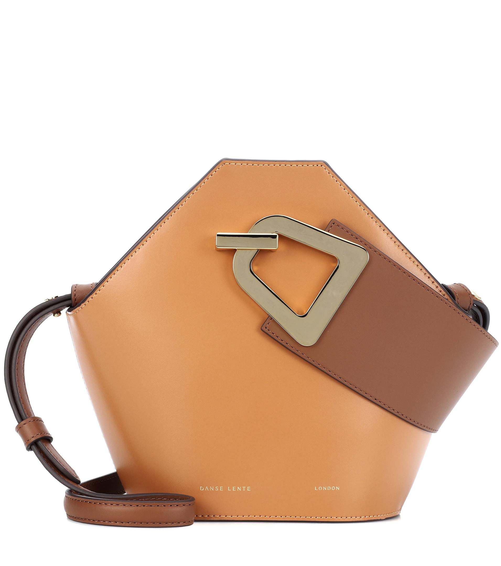 a68a88ad34f21 Danse Lente - Brown Mini Johnny Leather Bucket Bag - Lyst. View fullscreen