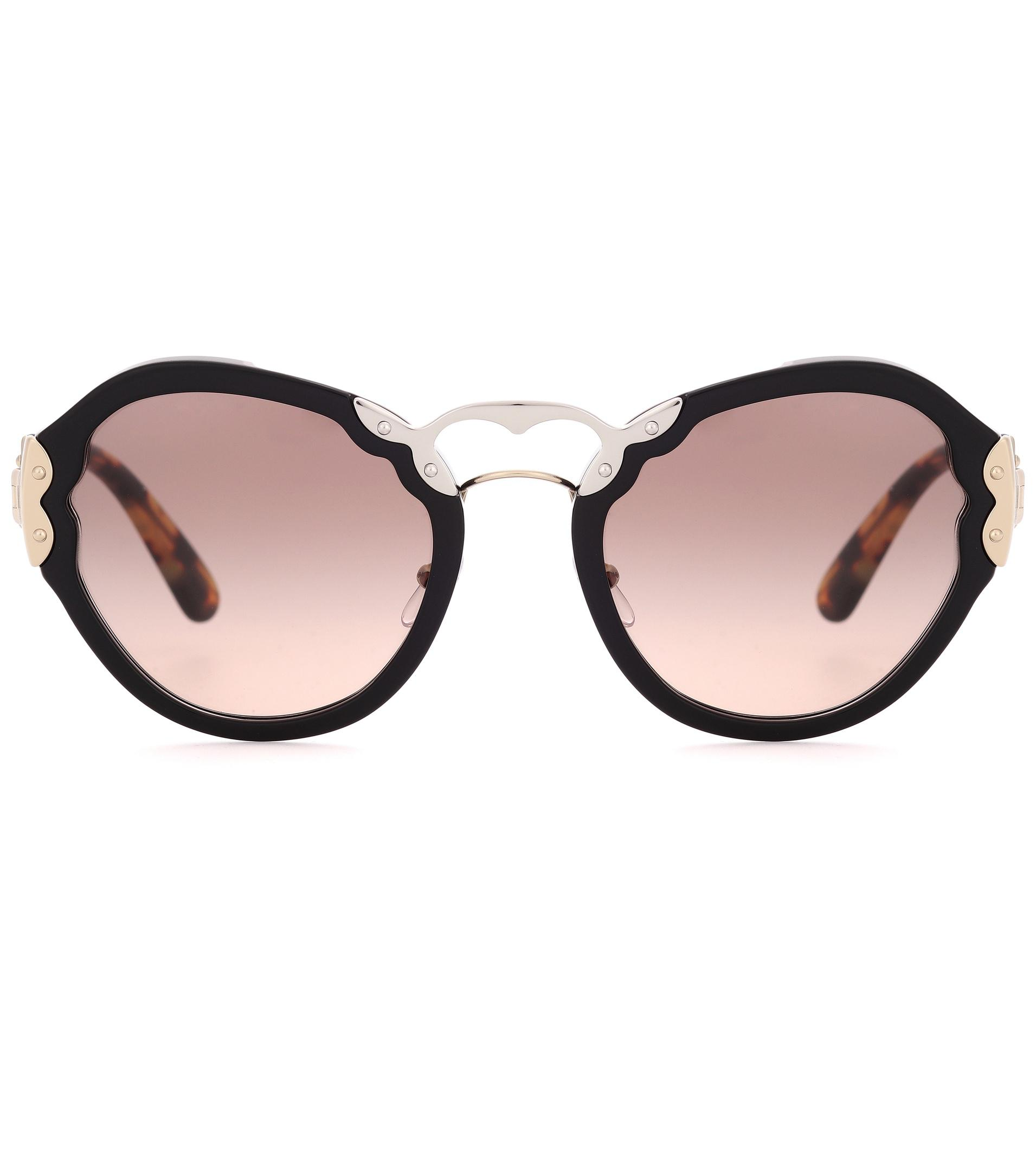 Wanderer Eye Prada Lyst In Black Cat Sunglasses q5CnA