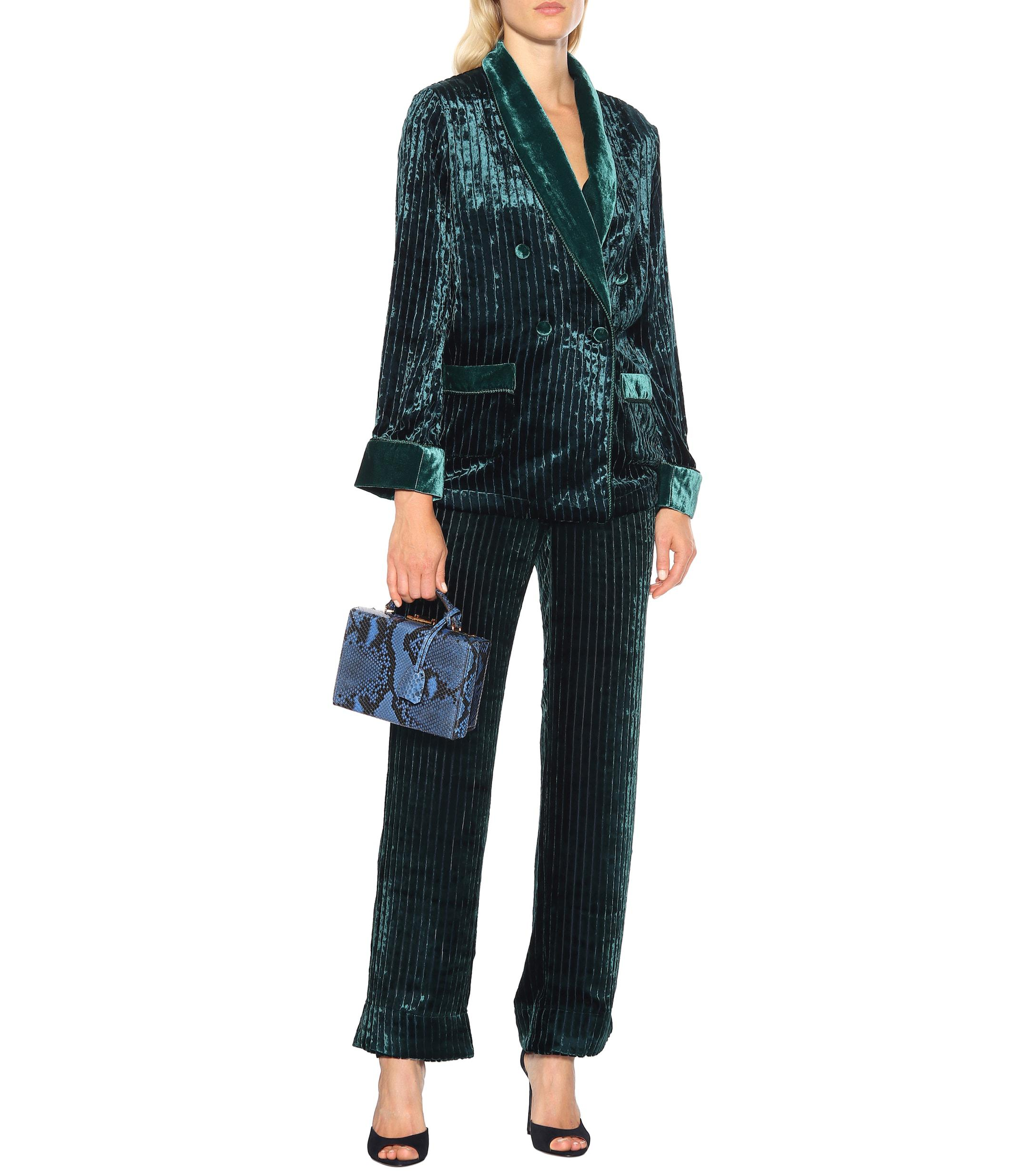 9ff6767aa Lyst - F.R.S For Restless Sleepers Ate Velvet Corduroy Pajama Jacket