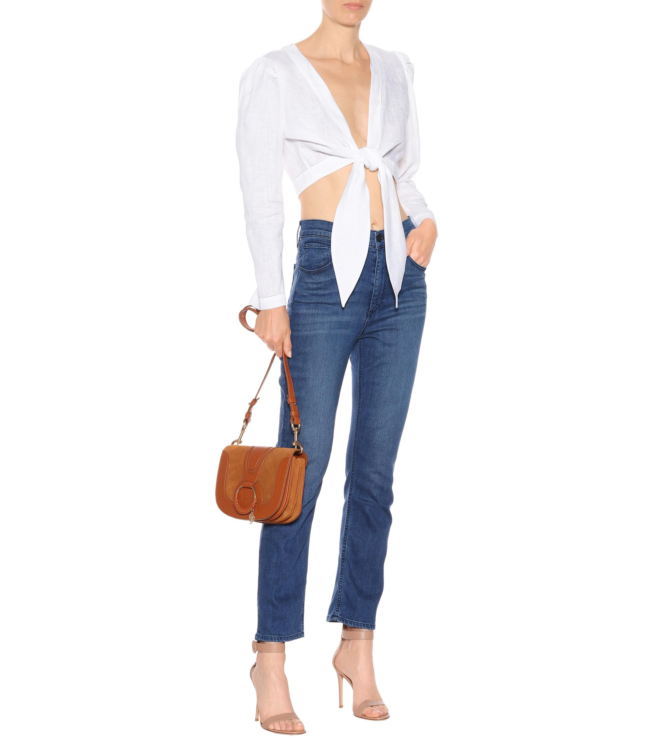 45838d393 ... Colette High-rise Straight Jeans - Lyst. View fullscreen