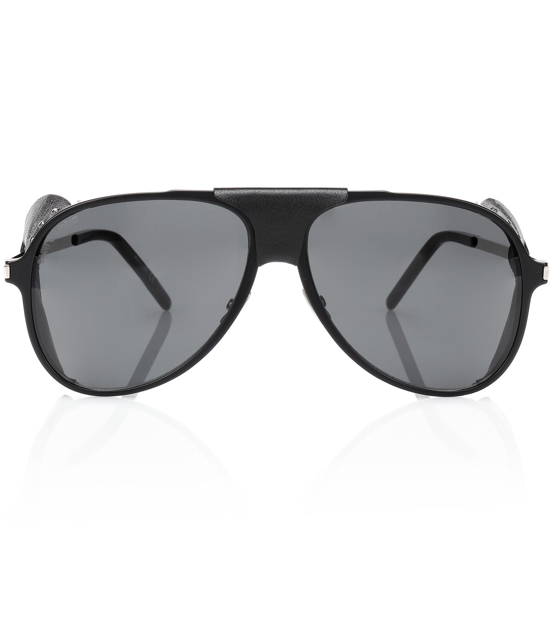 e9fa71a87d530 Saint Laurent Classic Aviator Sunglasses