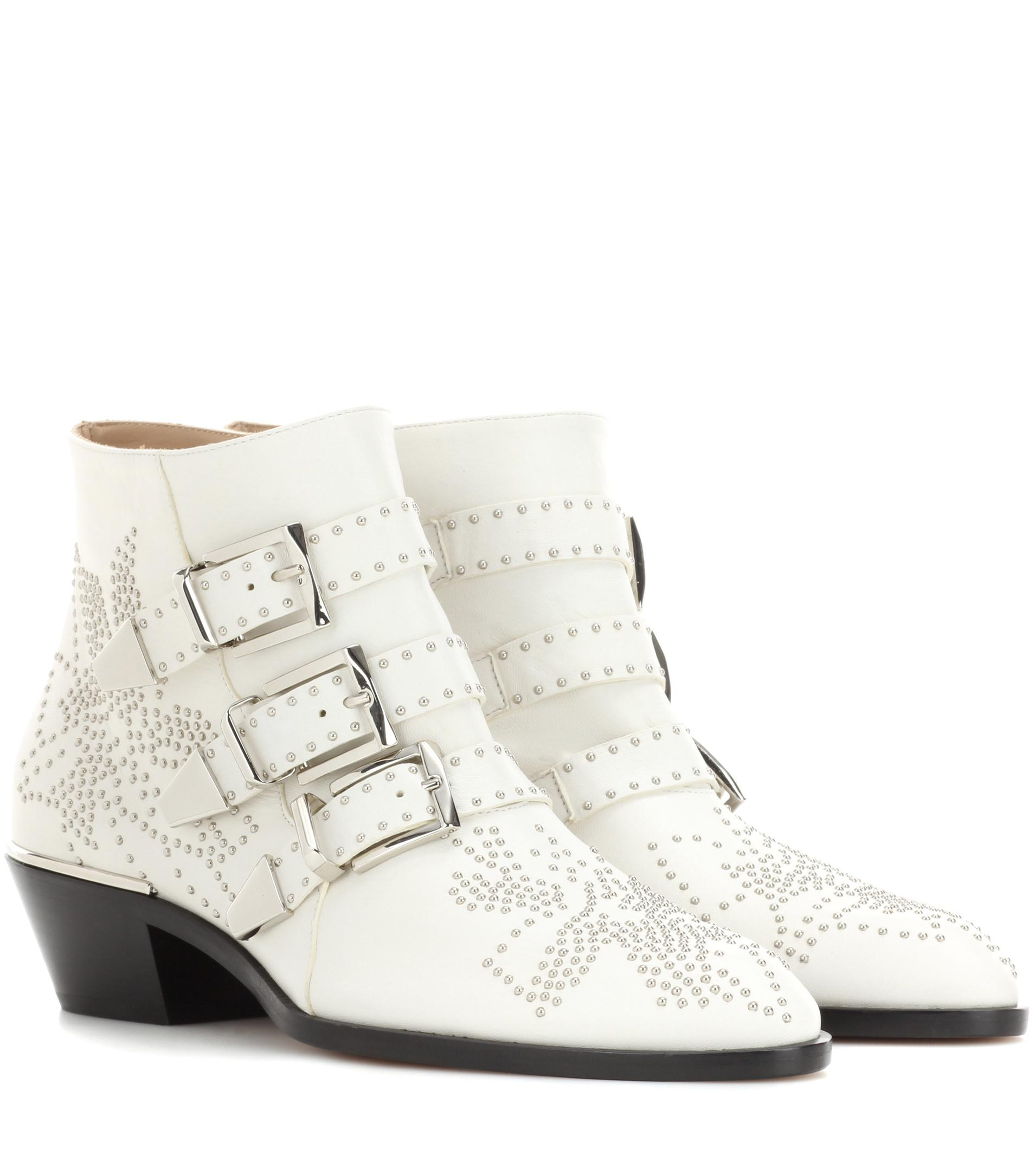 e09967597910 Gallery. Previously sold at  Mytheresa · Women s Studded Boots Women s  Studs Women s Chloe Susanna ...