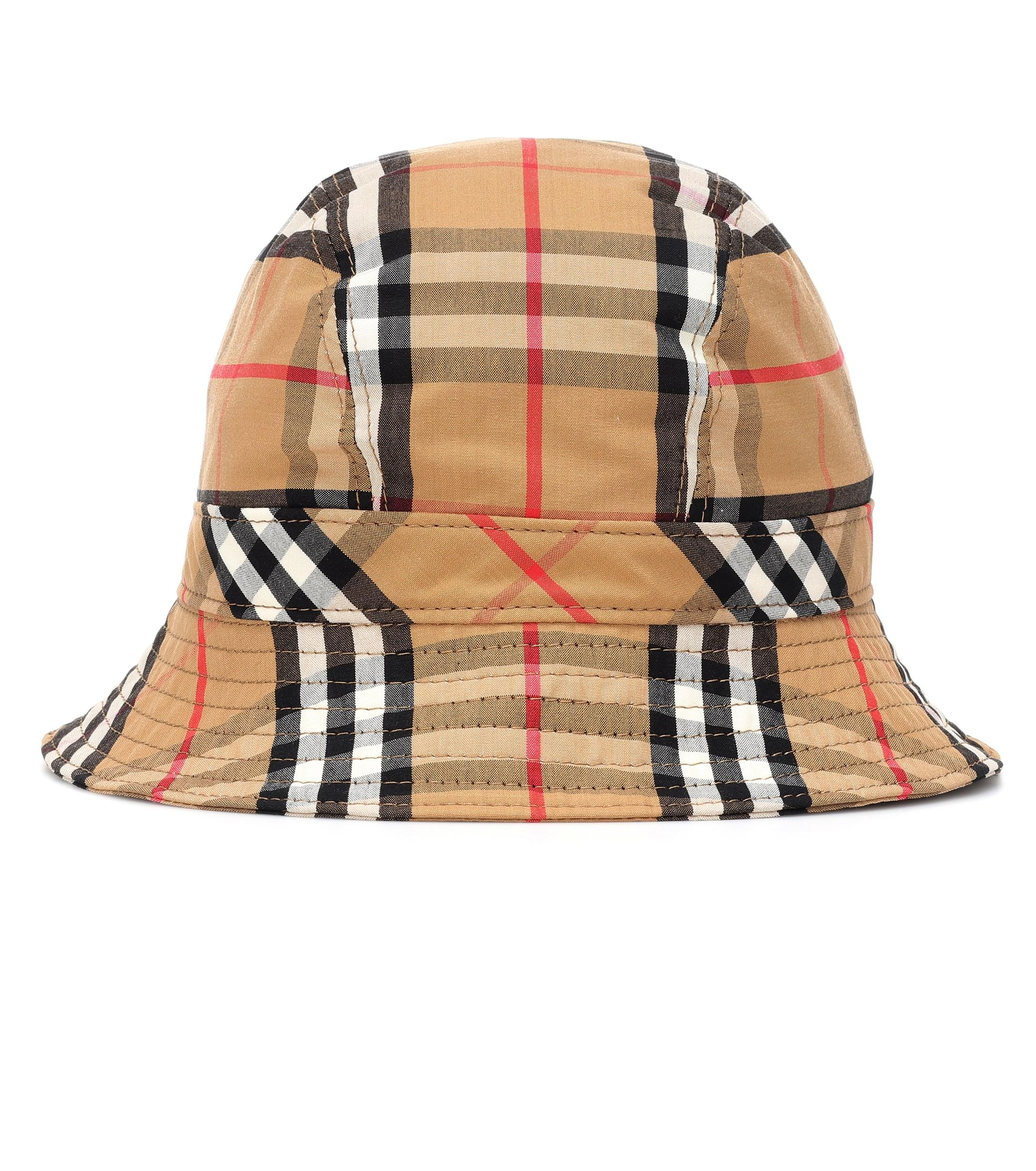 a4777f102bf396 ... Burberry - Multicolor Rainbow Check Bucket Hat - Lyst · Visit  Mytheresa. Tap to visit site