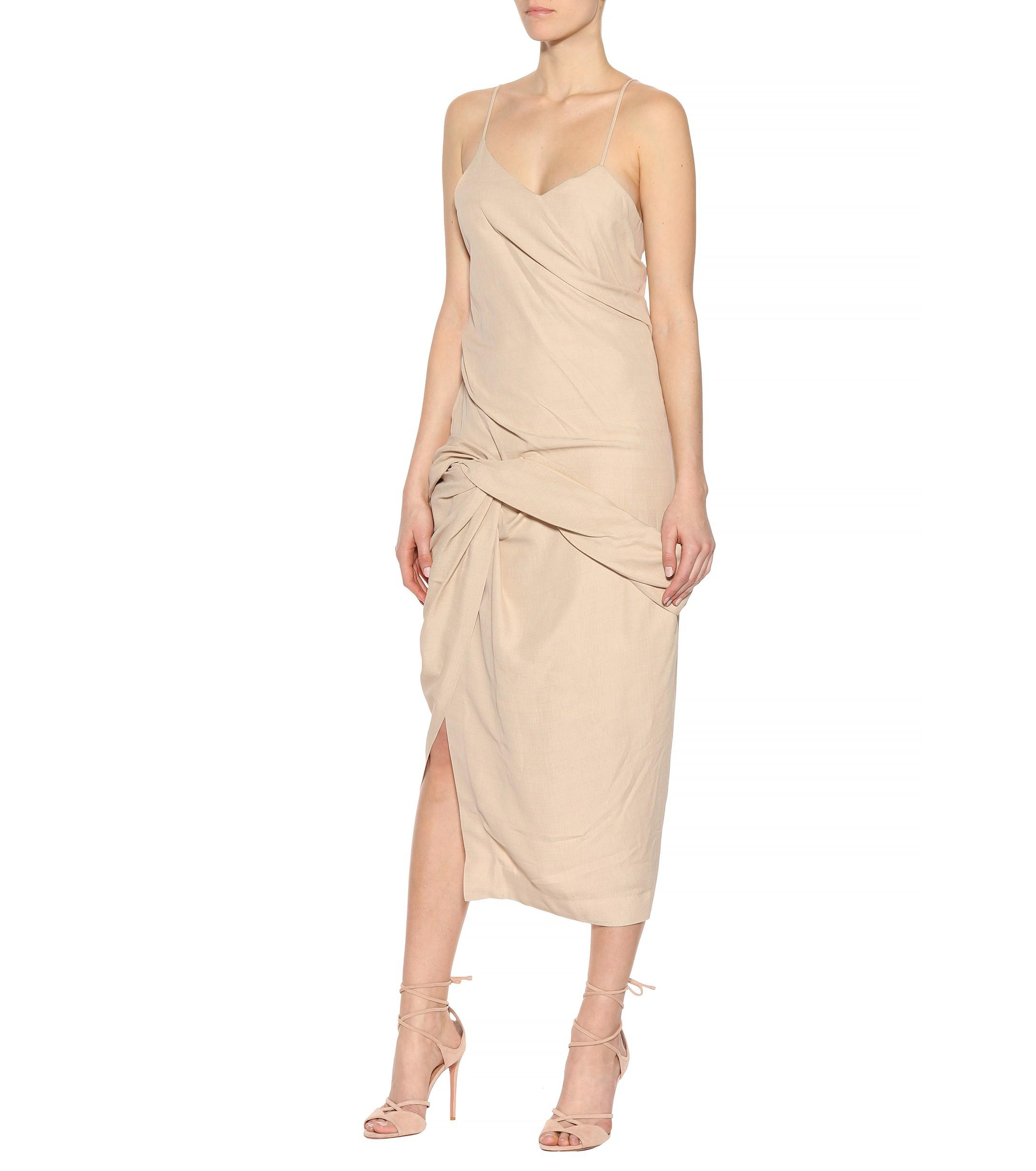 aa3a0c1114 Jacquemus - Natural Coracoa Dress - Lyst. View fullscreen
