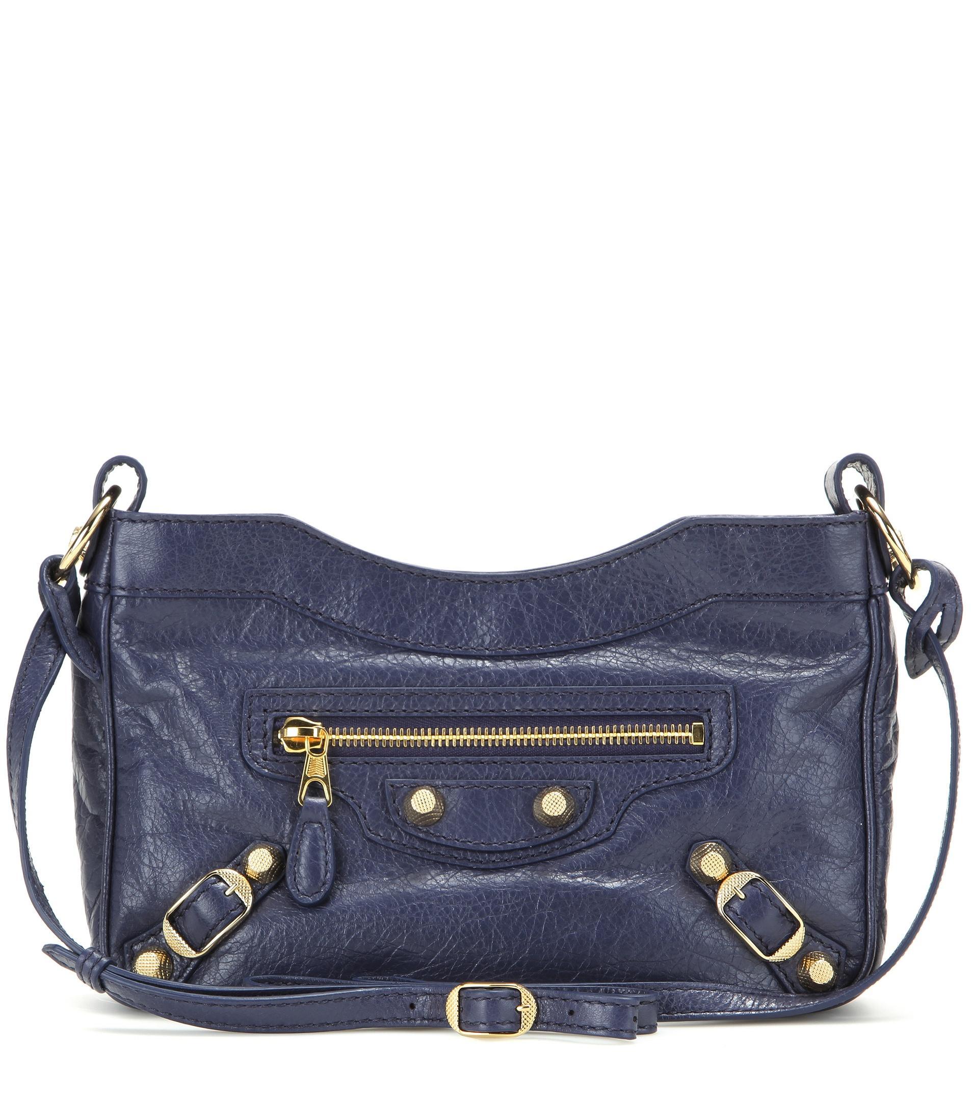 c9cb866514 Balenciaga Giant 12 Hip Leather Shoulder Bag in Black - Lyst