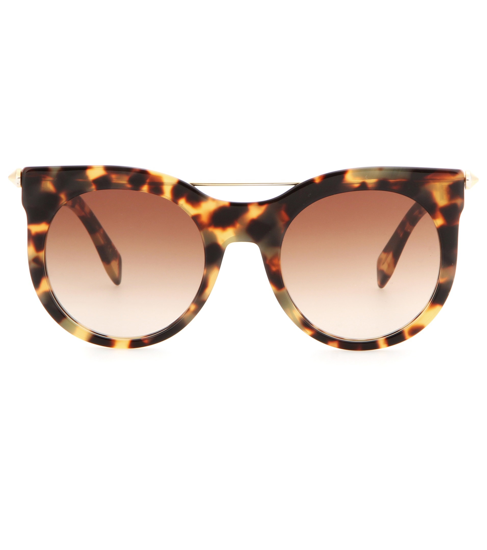 Lyst - Alexander Mcqueen Sunglasses in Brown - Save 58%