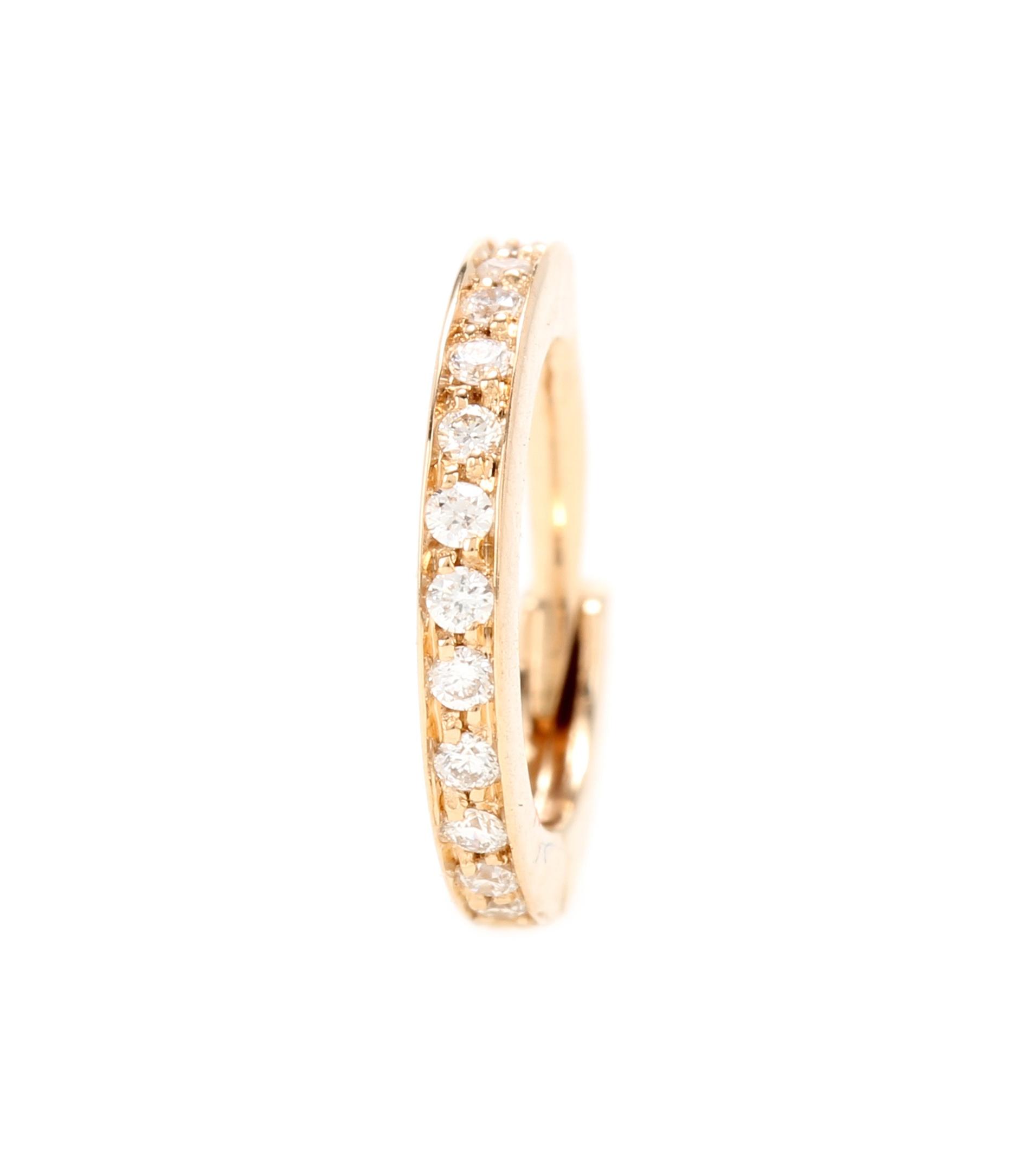 Repossi Mini Créole 18kt rose gold single earring Hu9FVn