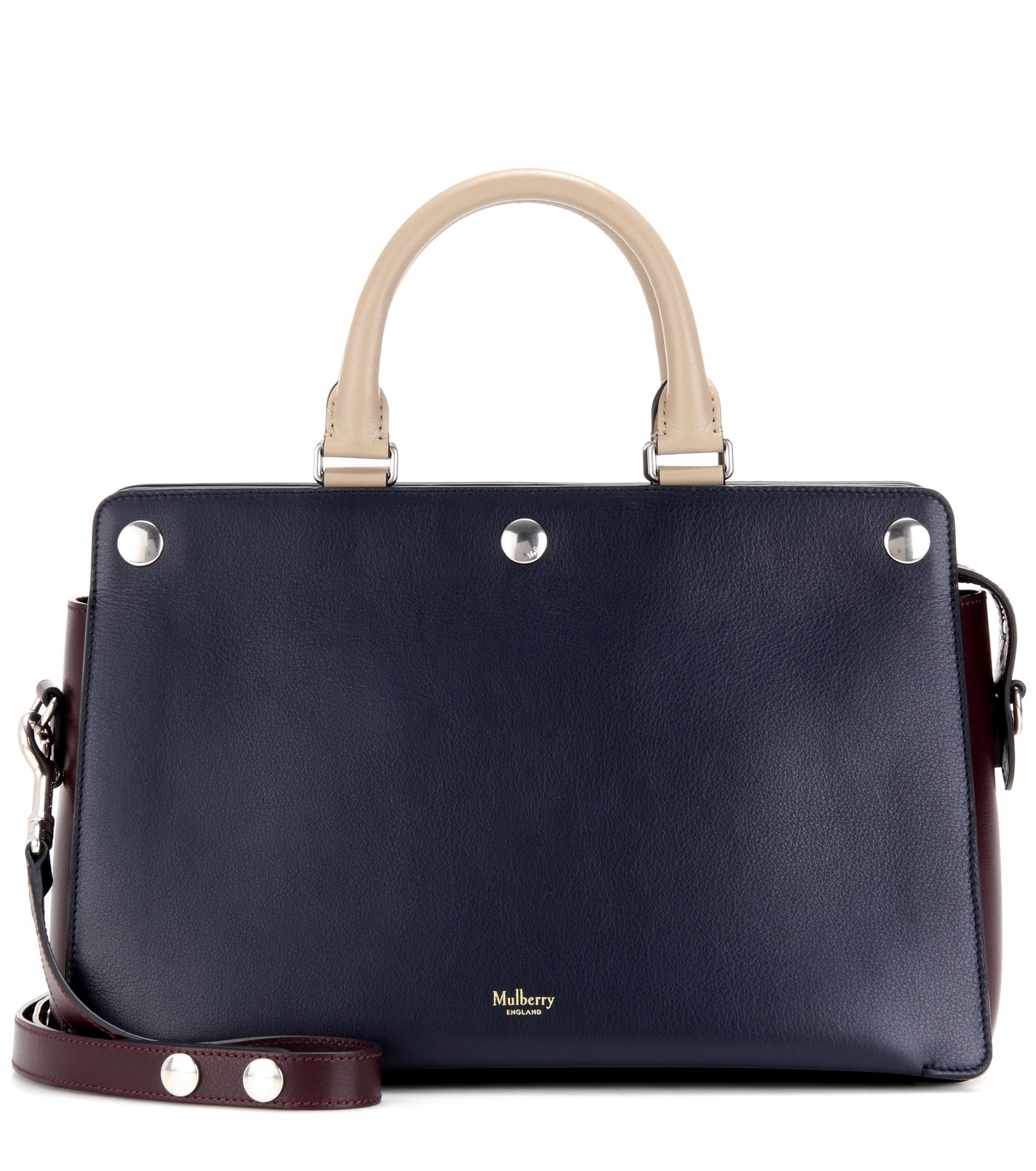 4644728aff Lyst - Mulberry Chester Leather Crossbody Bag in Blue