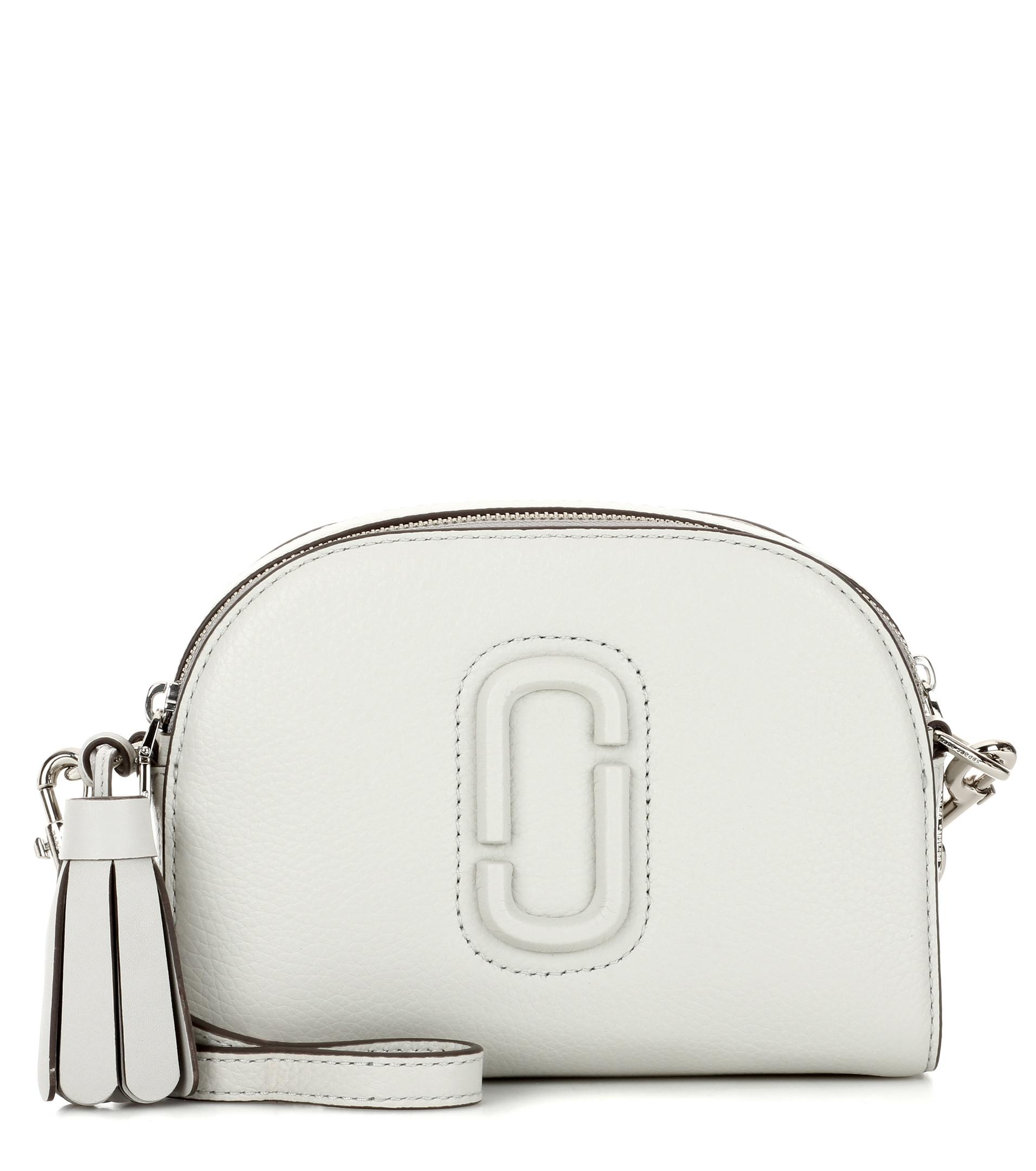Lyst Marc Jacobs Shutter Small Leather Crossbody Bag In