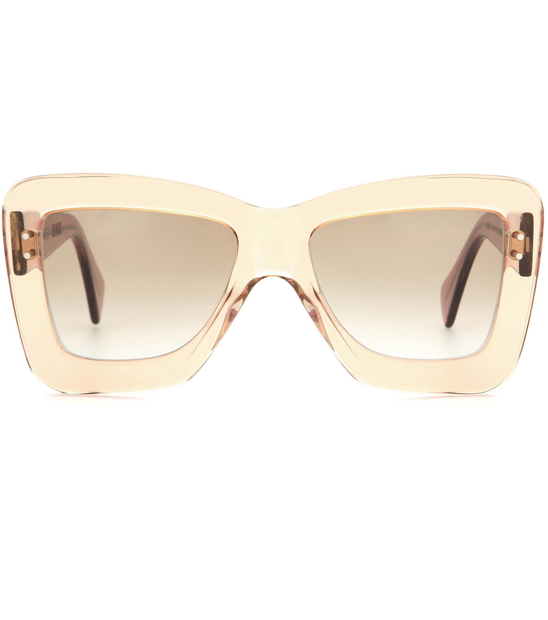 cf6df5a616 Lyst - Roksanda X Cutler And Gross Square Sunglasses in Orange