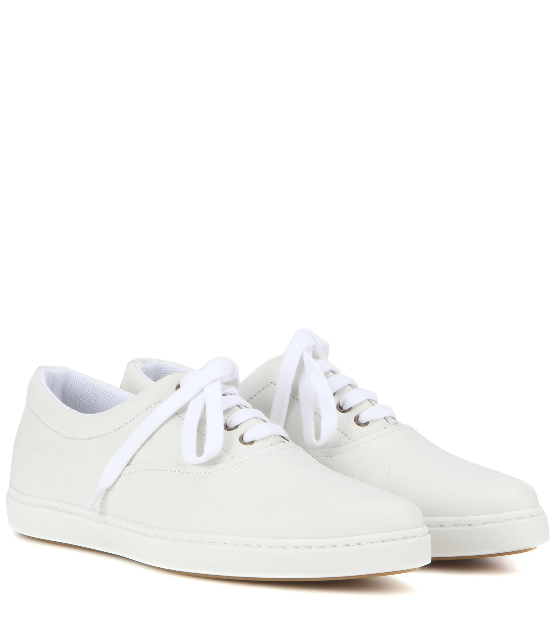 Tomas Maier Leather Trainers NHUOK