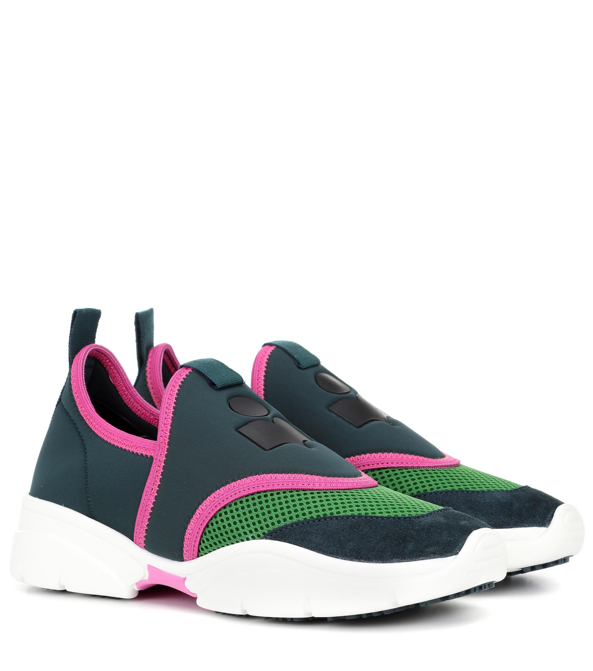 buy cheap manchester great sale classic cheap online Isabel Marant Kaisee scuba sneakers best outlet the cheapest L3FGoWOG04