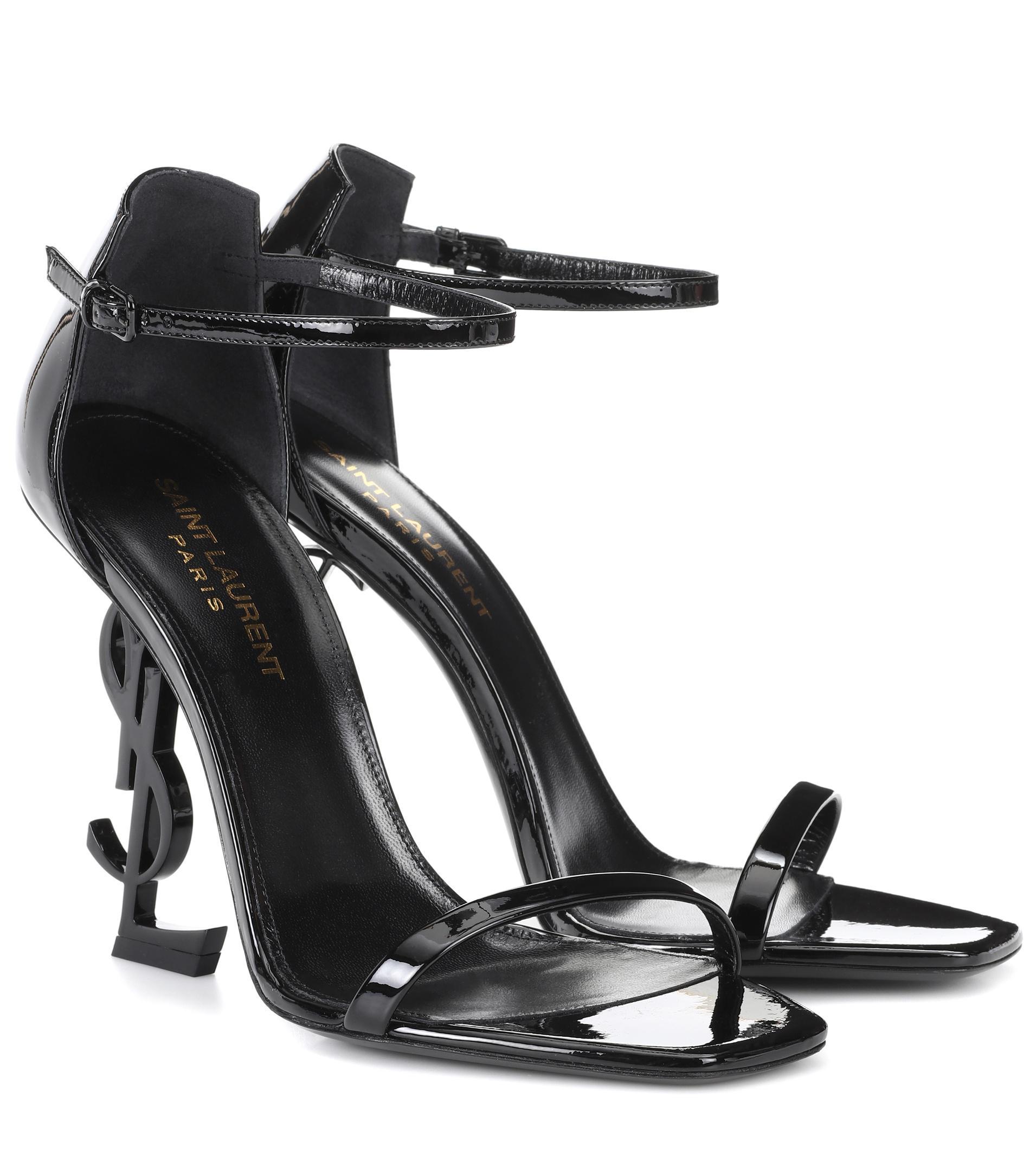 Opyum 110 patent leather sandals Saint Laurent rrbSVJhr