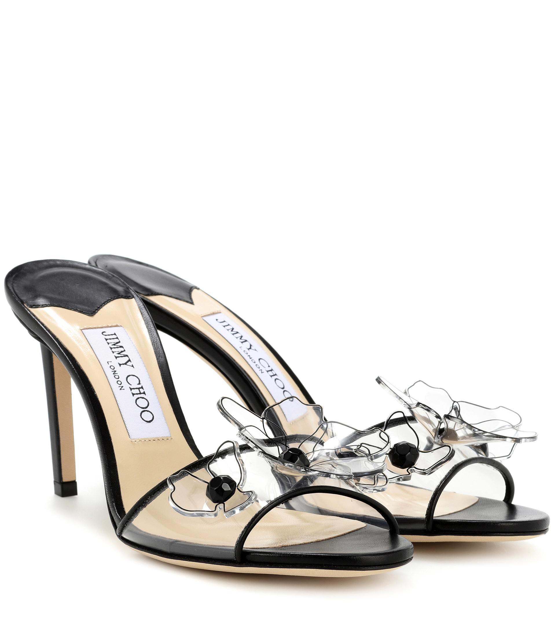 Jimmy choo Saskia 85 embellished sandals f4avv