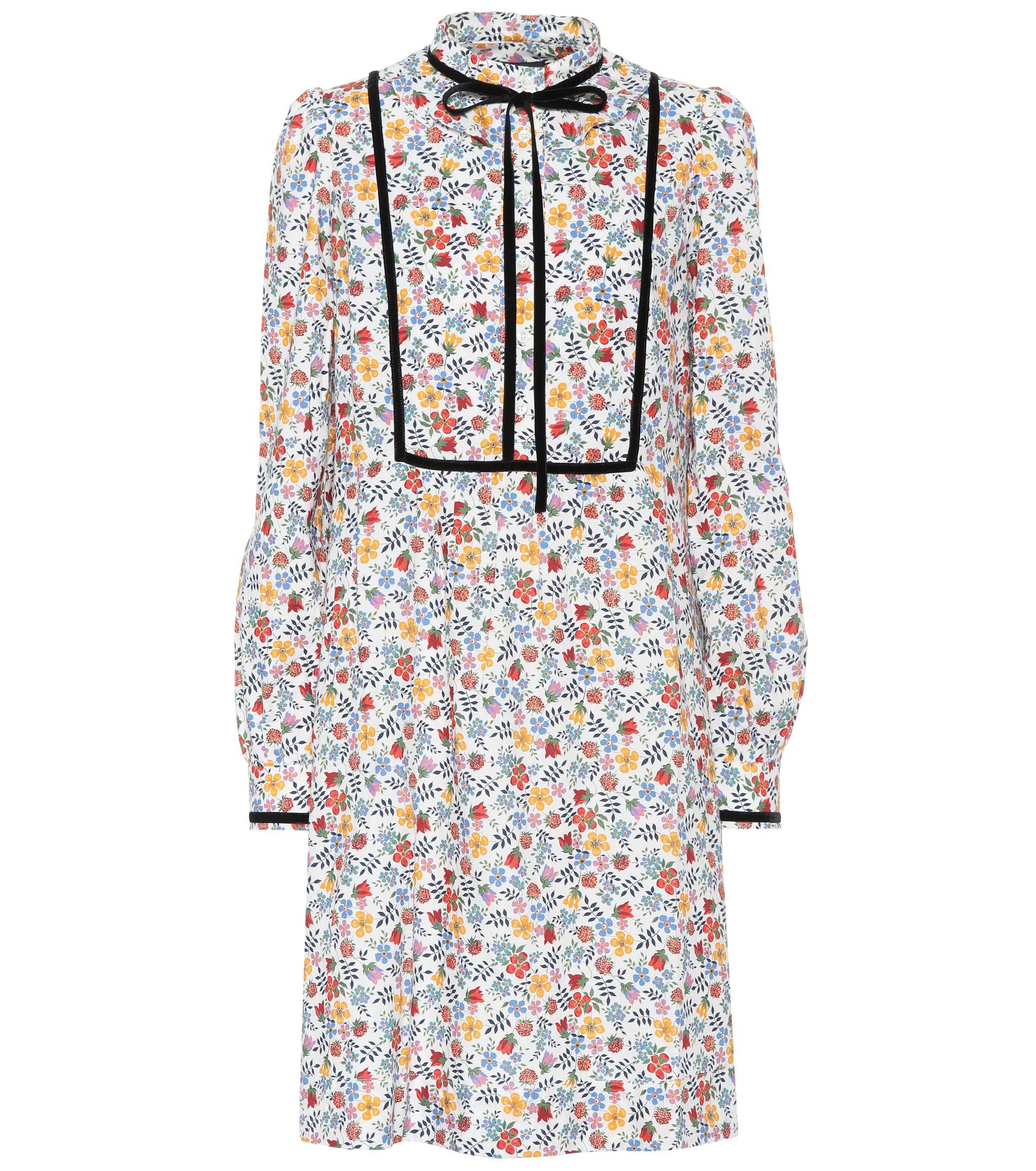 Rita printed cotton dress A.P.C. dgeLrURtY