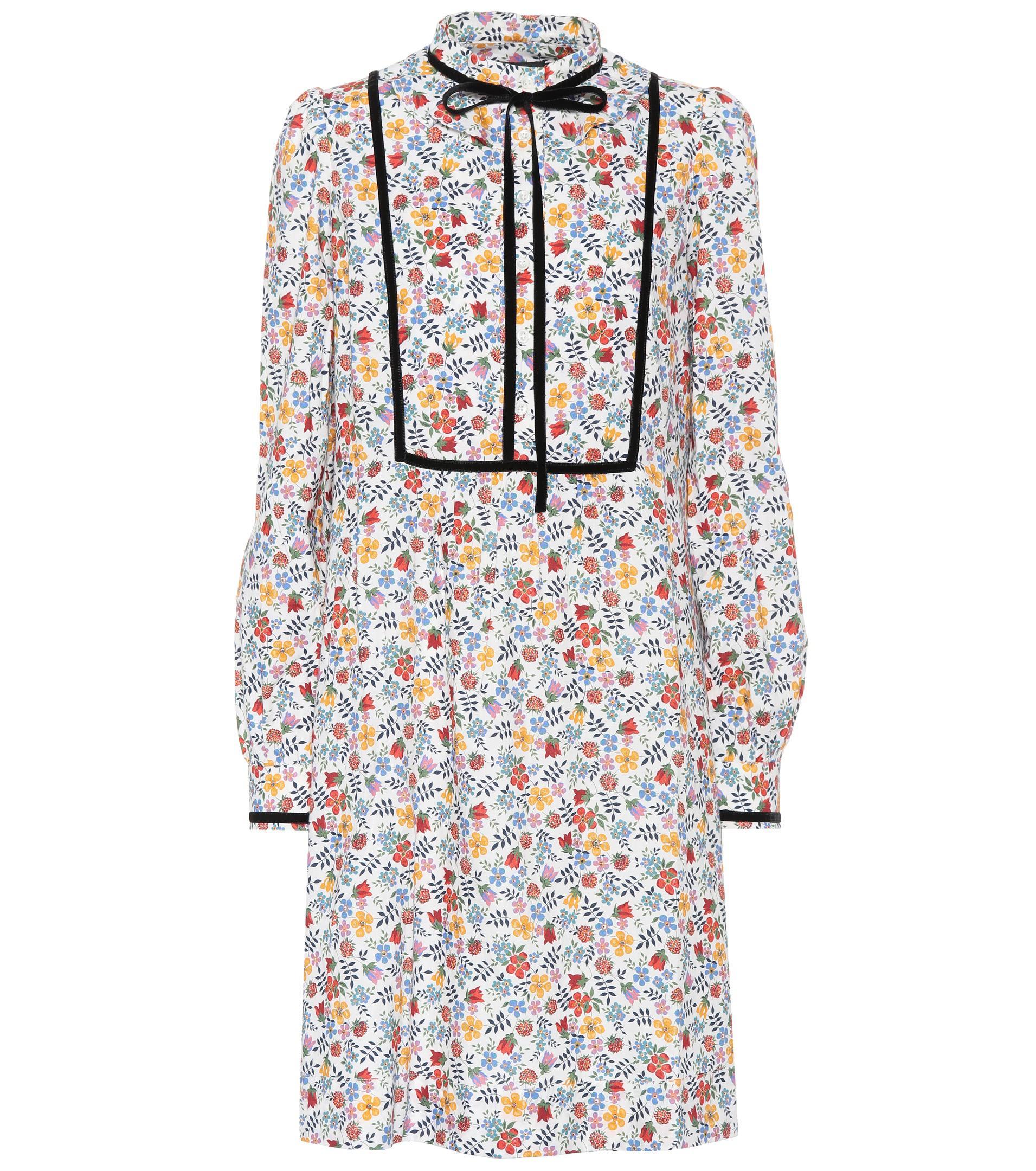 Rita printed cotton dress A.P.C. hewVreAtzJ