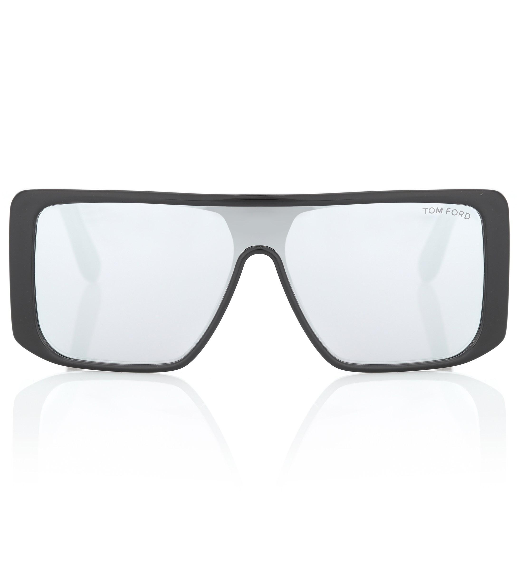 1b99f83273 Tom Ford - Black Atticus Rectangular Acetate Sunglasses - Lyst. View  fullscreen