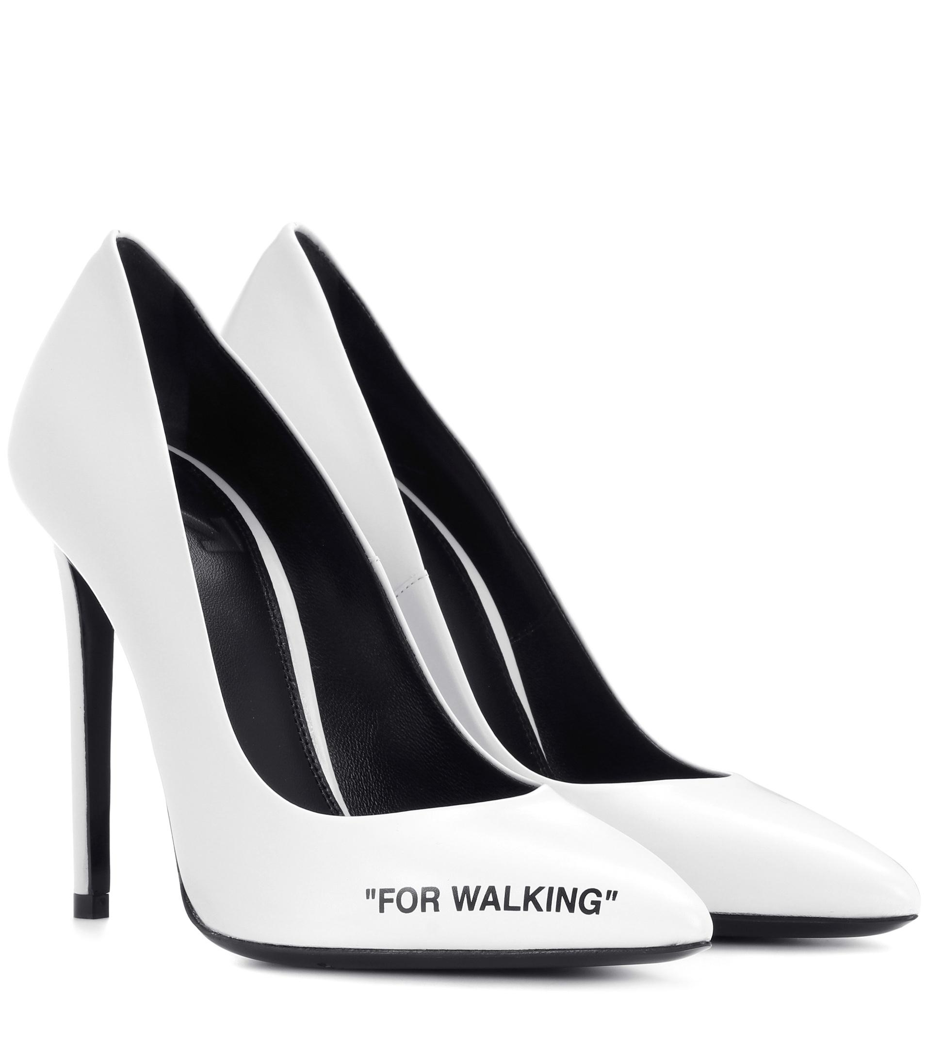 Off-White c/o Virgil Abloh For Walking Leather Pumps quality outlet store free shipping cheap price outlet exclusive for sale vmBoMW