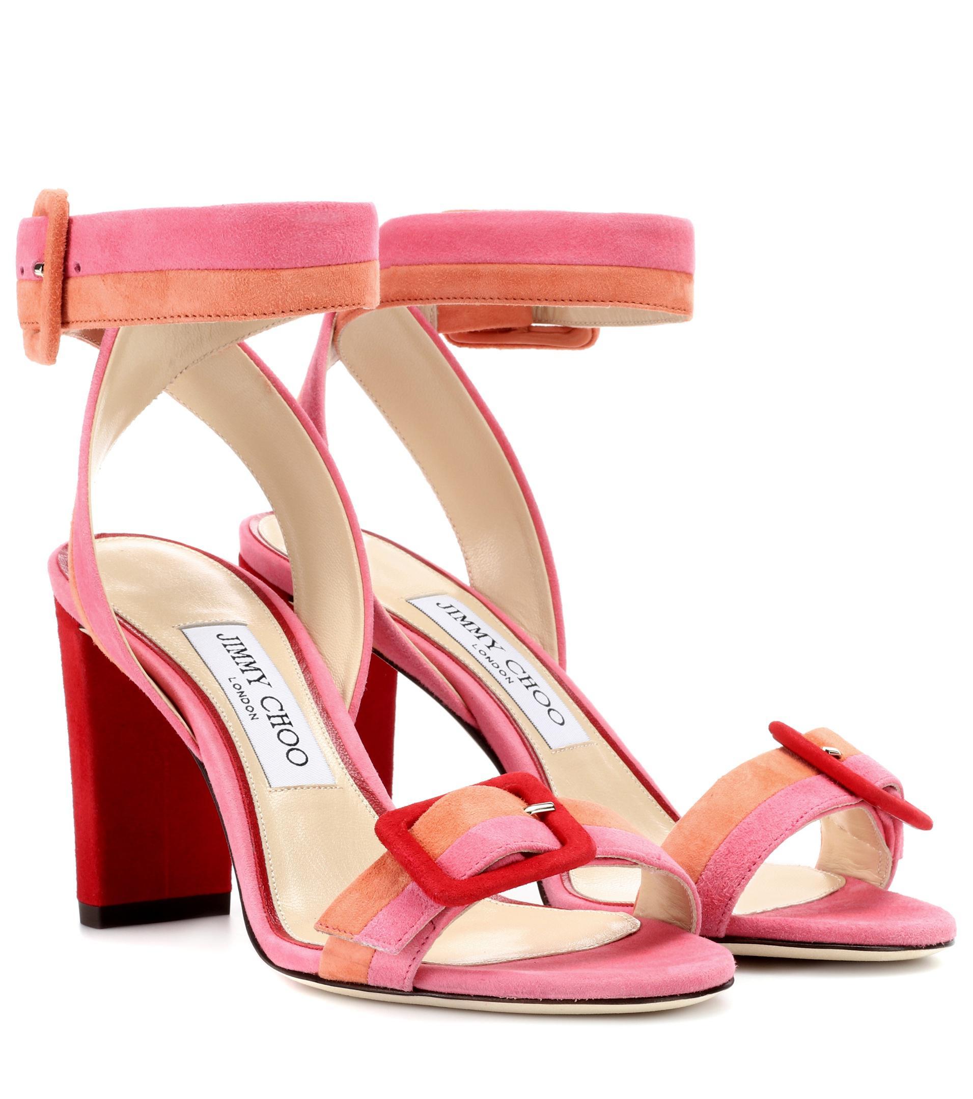 Sacora 100 Embellished Suede Sandals - Black Jimmy Choo London 0kaXJD