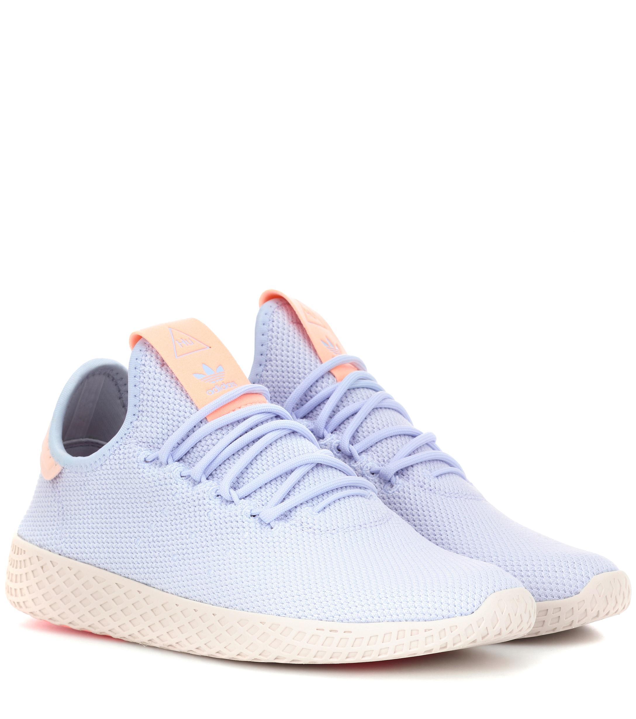 a58a241ef Adidas Originals Pharrell Williams Tennis Hu Sneakers in Blue - Lyst