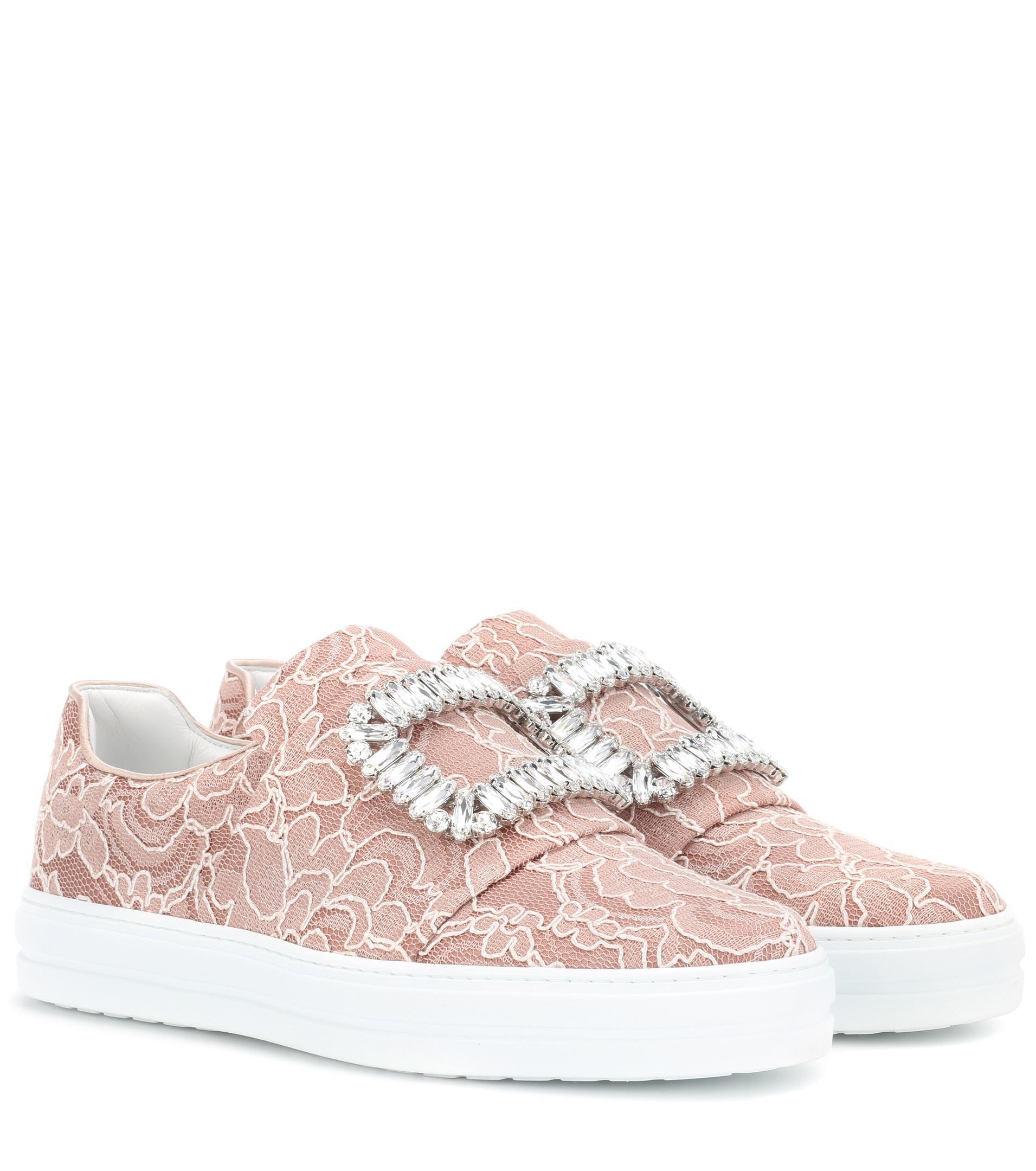 Roger VivierSneaky Viv' lace sneakers