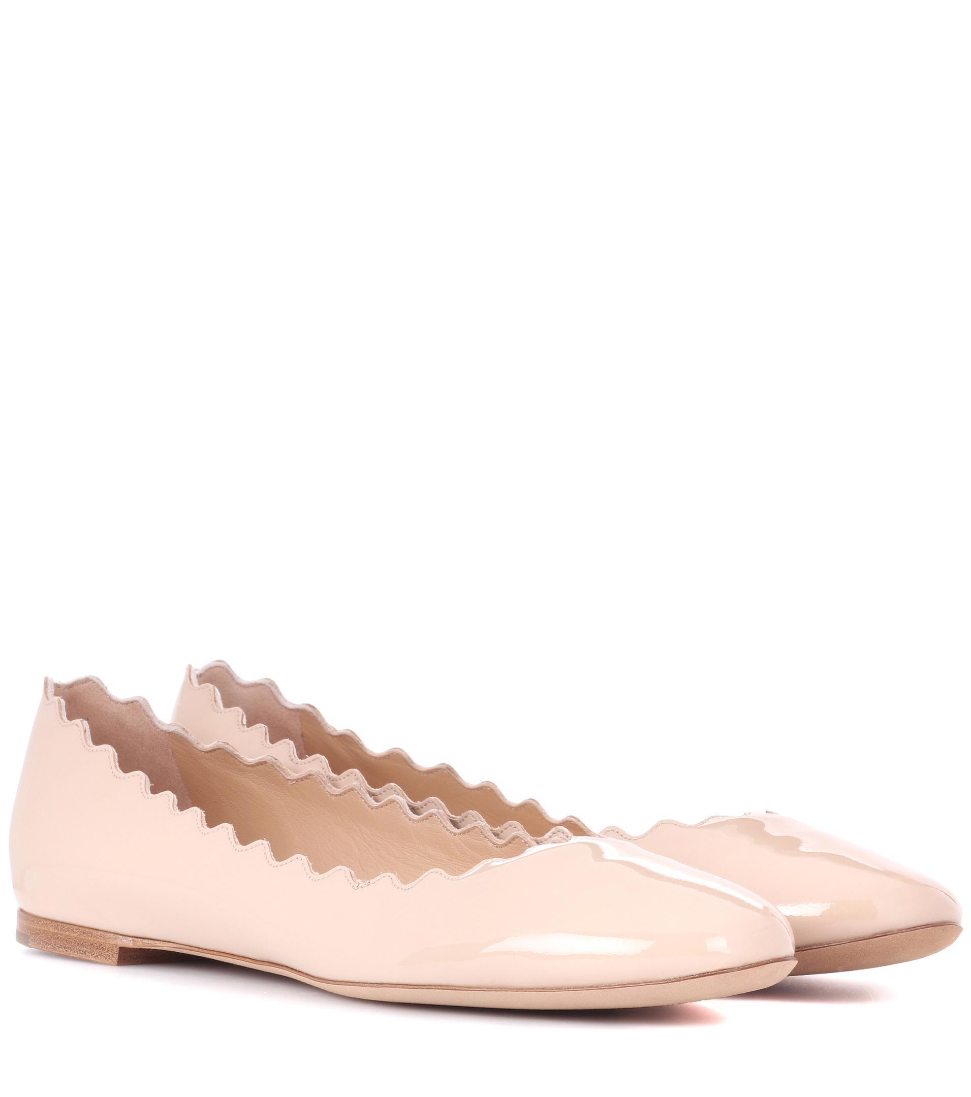 Lauren patent leather ballerinas Chloé pR74mfAr4