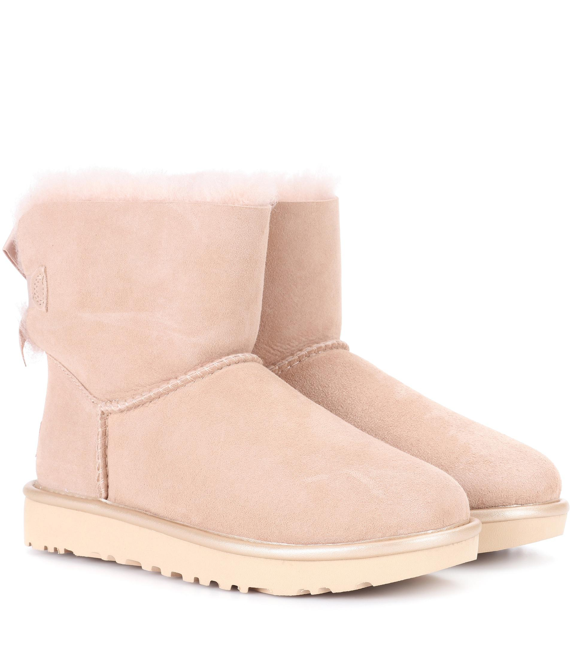 Mini Bailey Bow II suede ankle boots UGG Clearance Perfect TOrQUQ