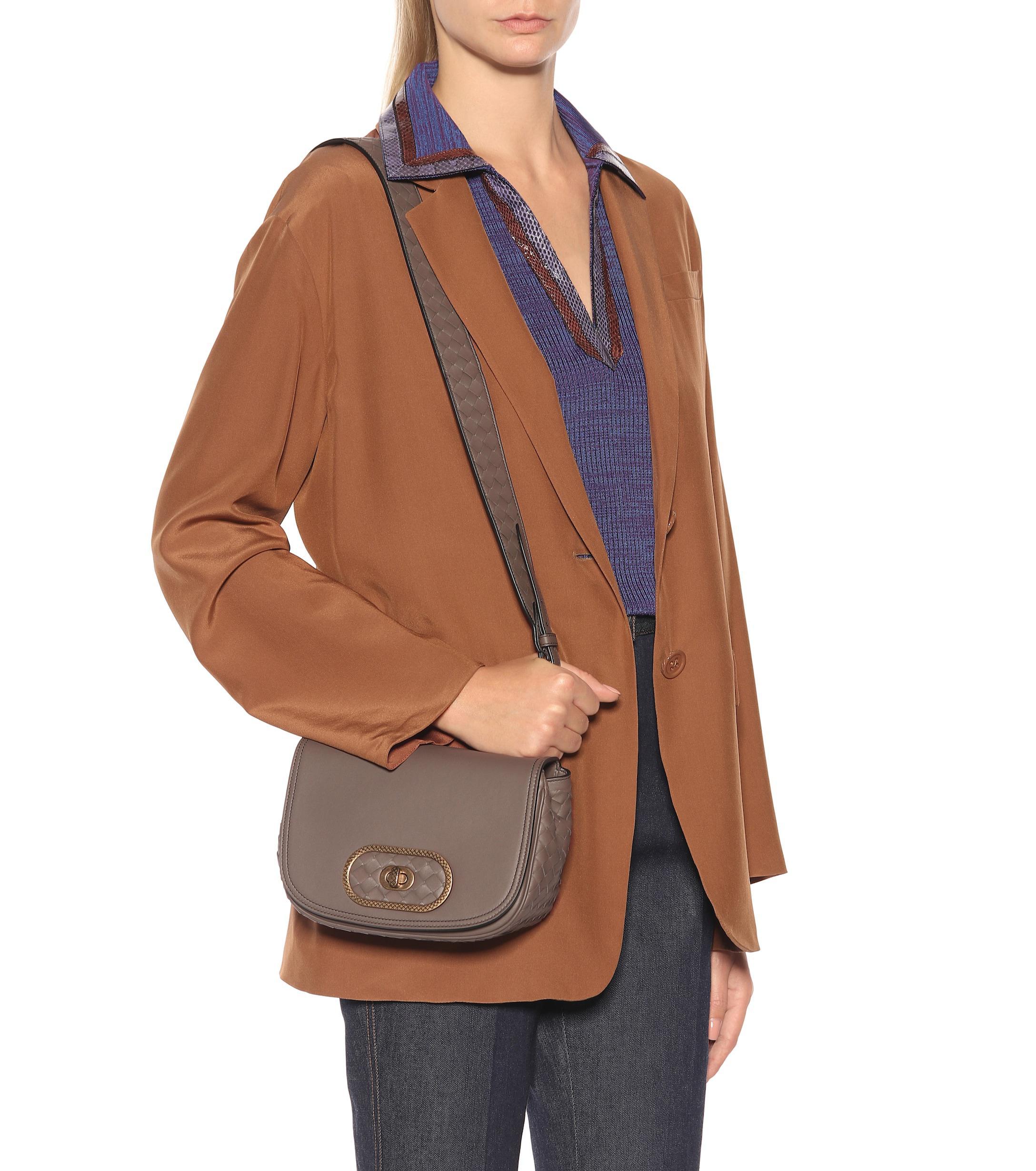 004abeb8a67 Bottega Veneta - Multicolor Bv Luna Leather Crossbody Bag - Lyst. View  fullscreen
