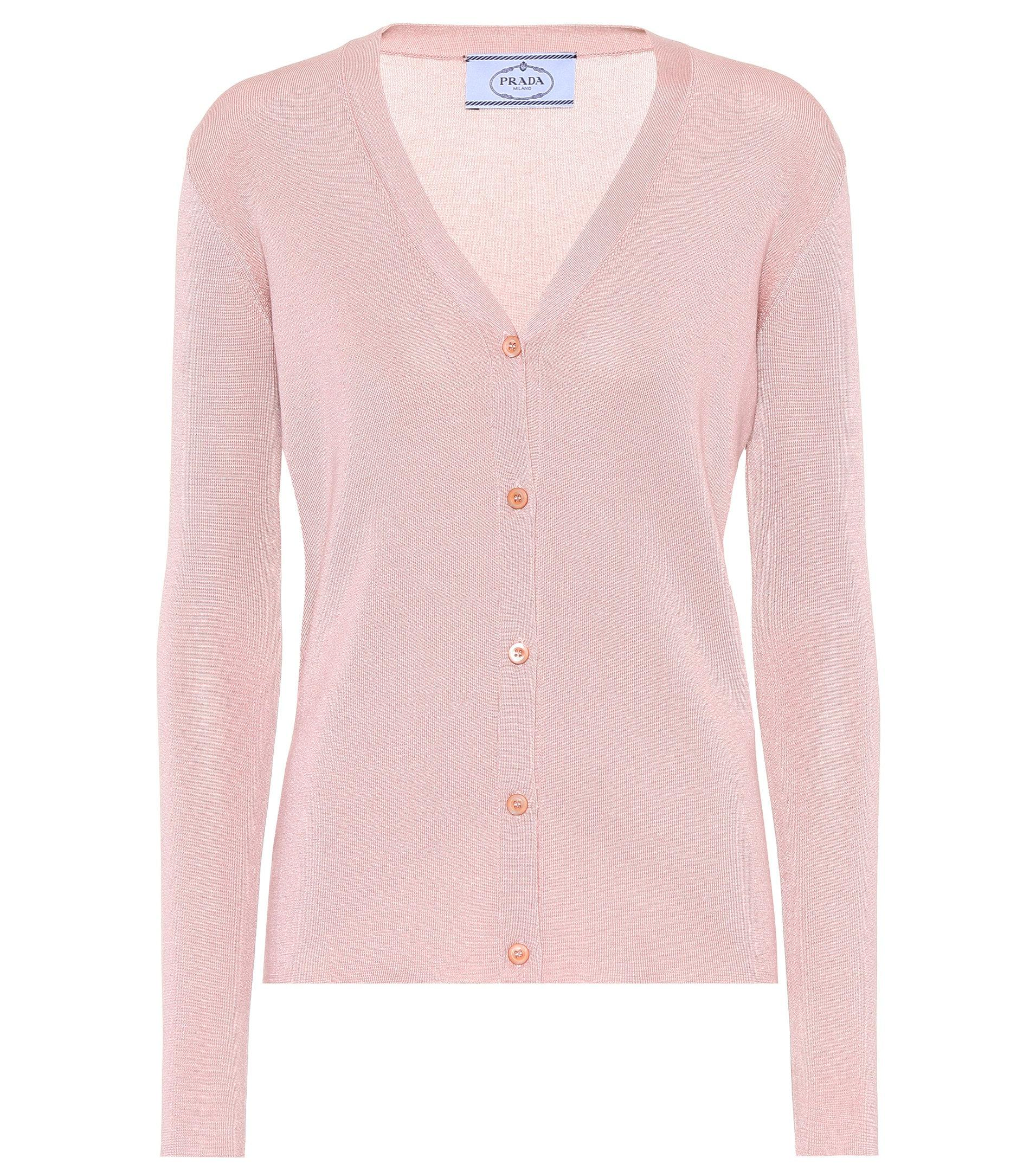 Prada Cashmere & Silk Embellished Cardigan Cost Clearance New Buy Cheap Best Store To Get Buy Cheap Shop REviFrvN