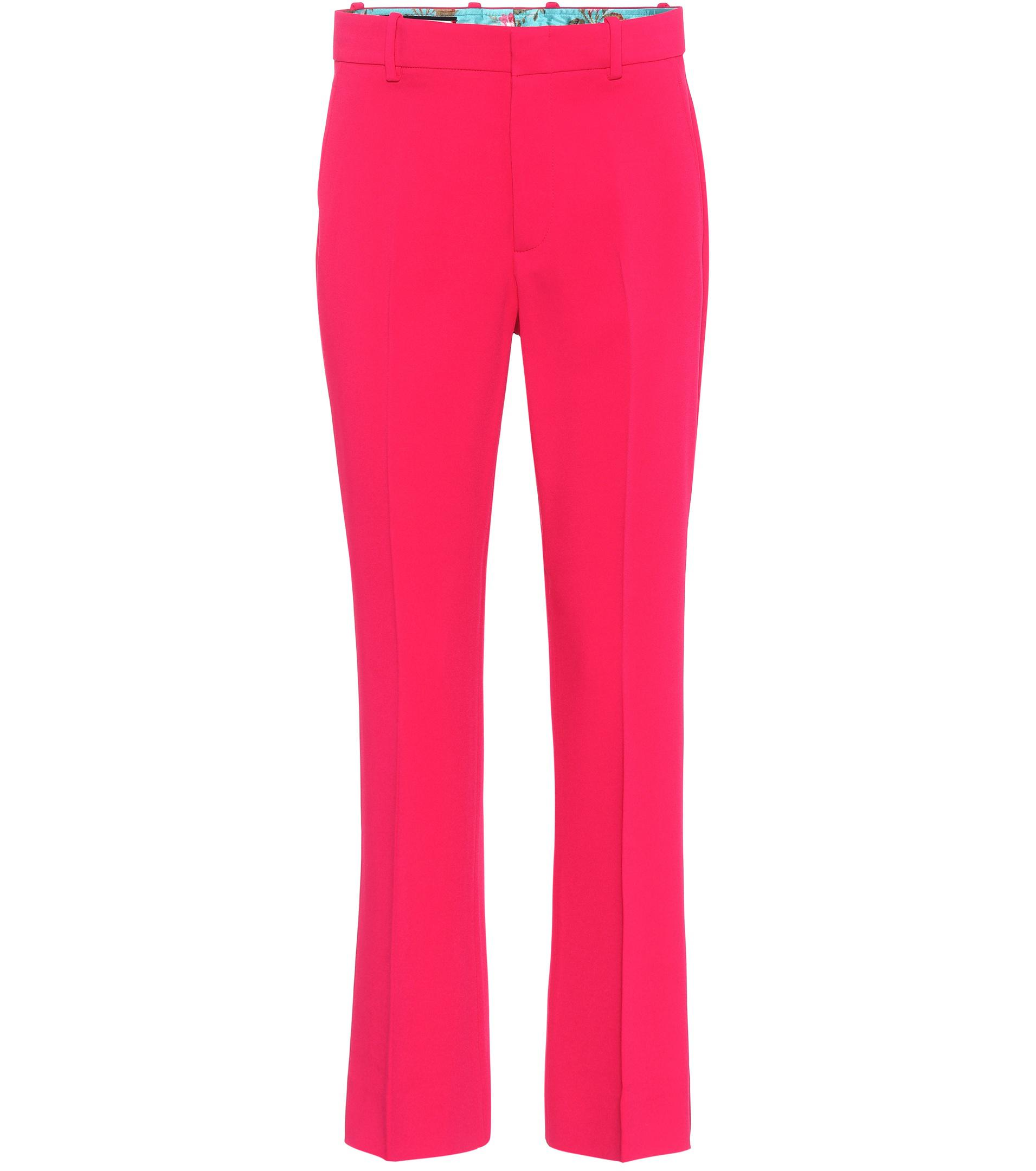 Pantalons À Taille Haute Gucci KM1hgeVbt