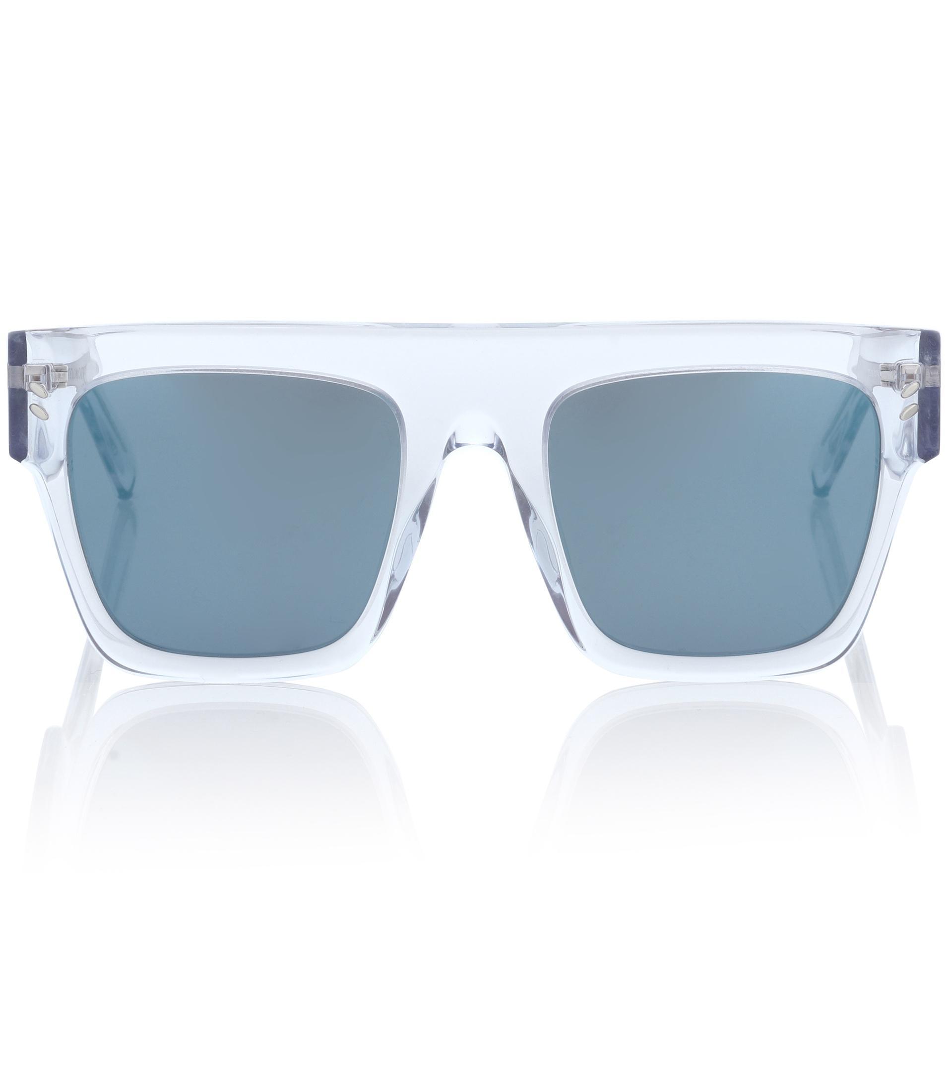228c86161e Lyst - Lunettes de soleil Icy Ice Stella McCartney en coloris Bleu
