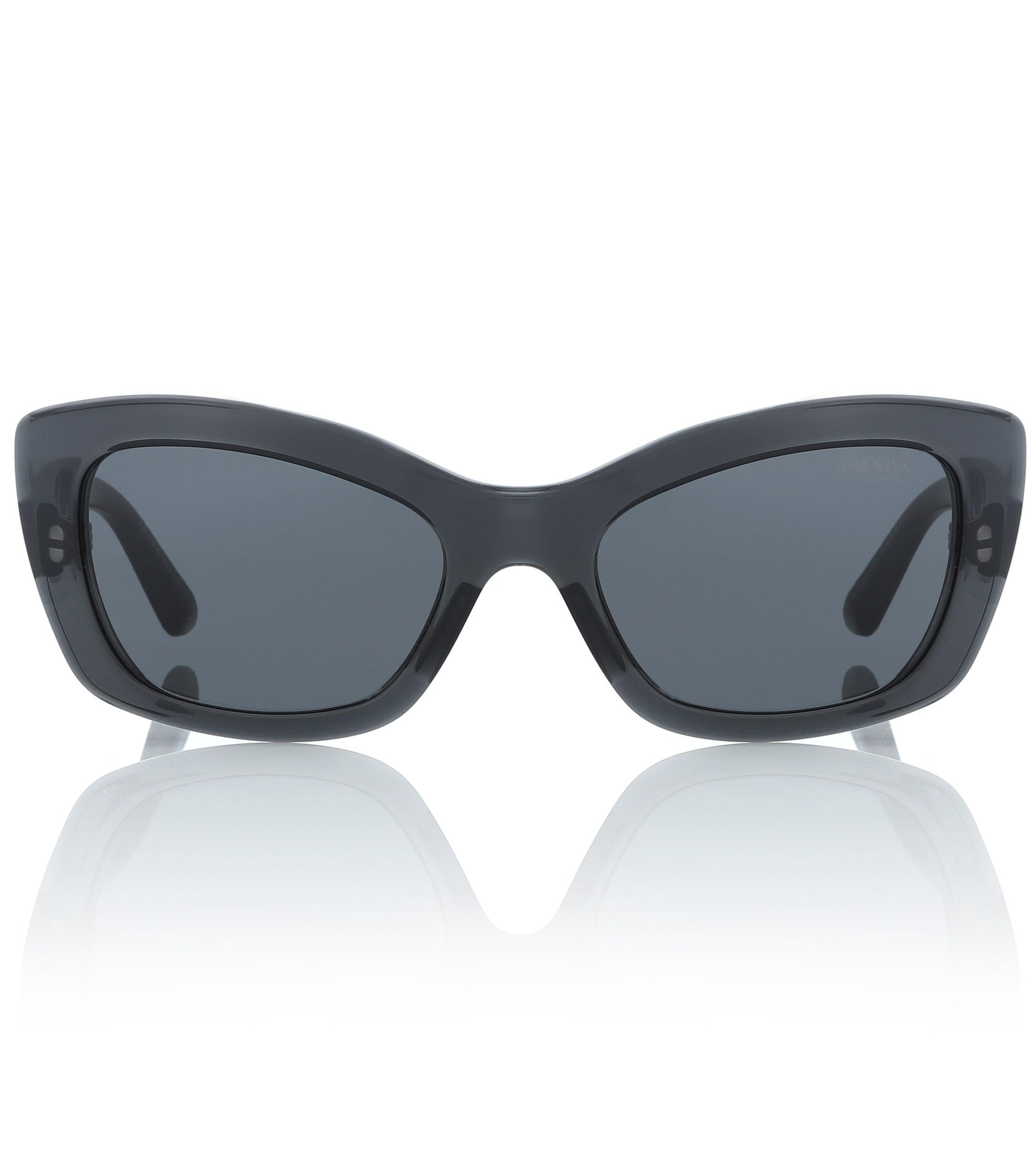 09f4f4acad Prada - Gray Gafas de sol Postcard - Lyst. Ver en pantalla completa
